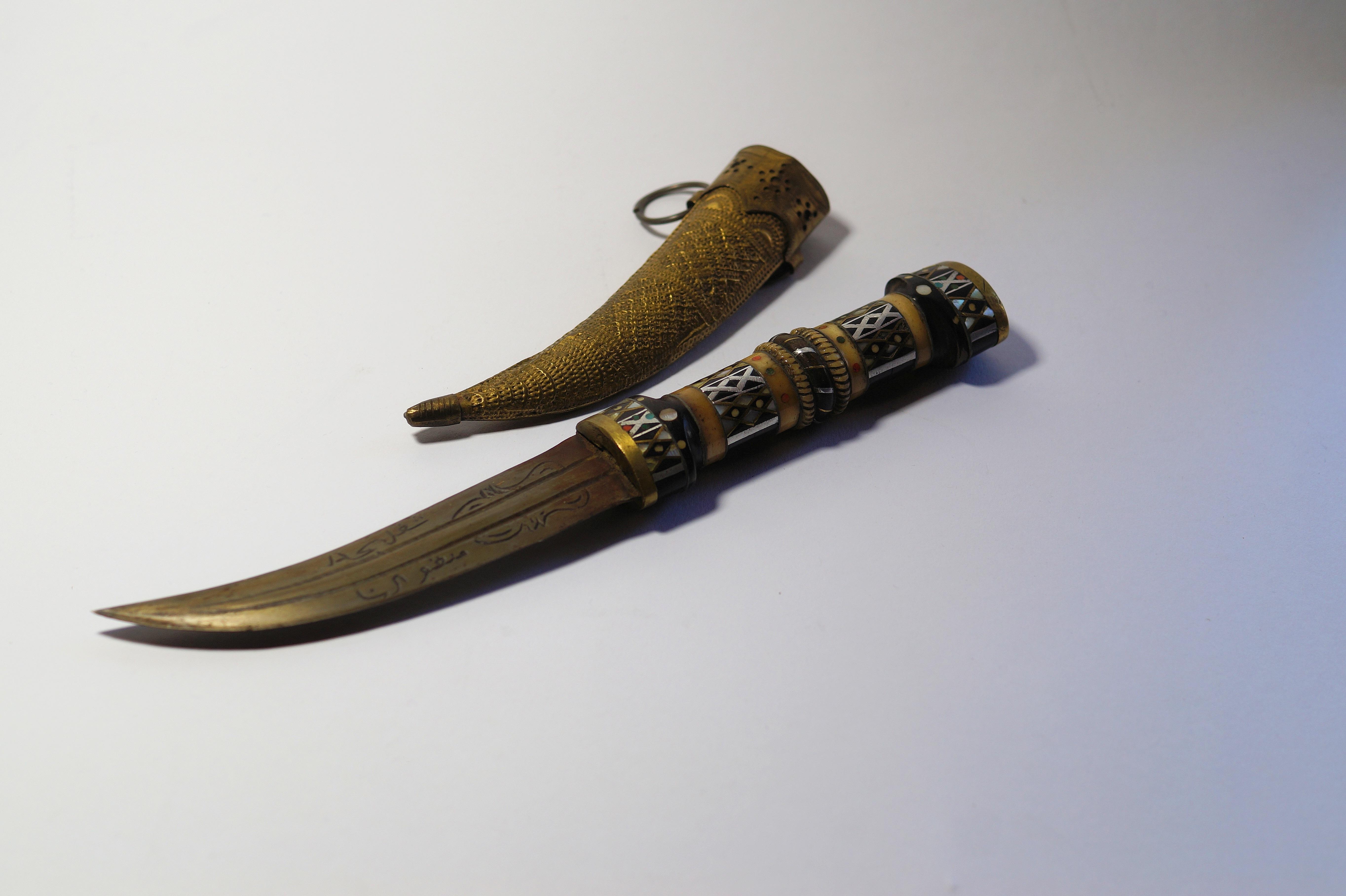 Free Images : horn, knife, sword, handmade, oriental, arabic