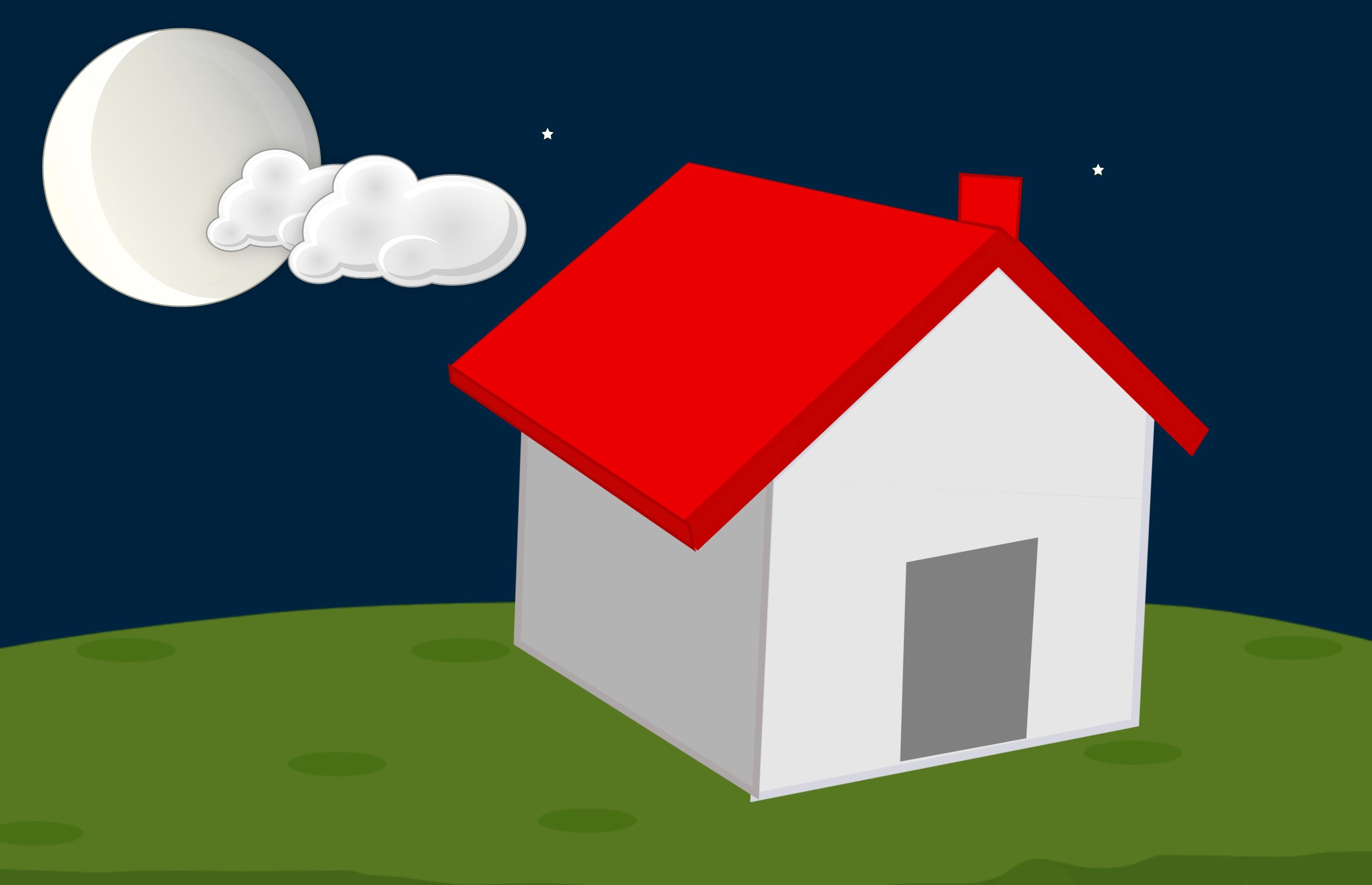 7100 Gambar Animasi Lingkungan Rumah HD Terbaru