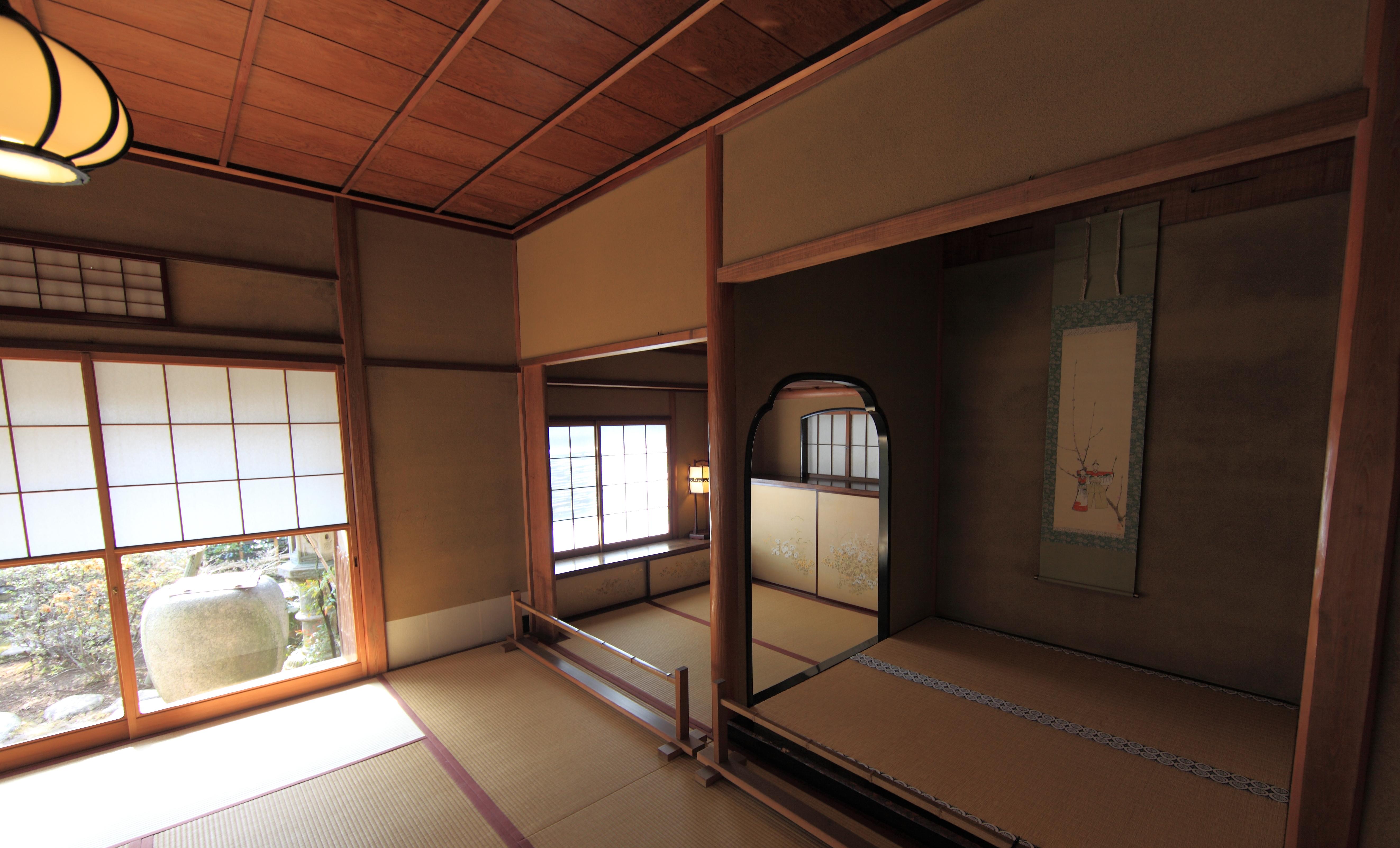 Interieur Maison Japonaise Traditionnelle images gratuites : maison, intérieur, plafond, haute, musée