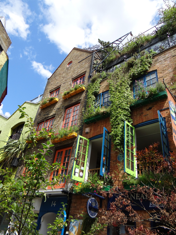 Free images house building city home village for Cafe du jardin restaurant covent garden