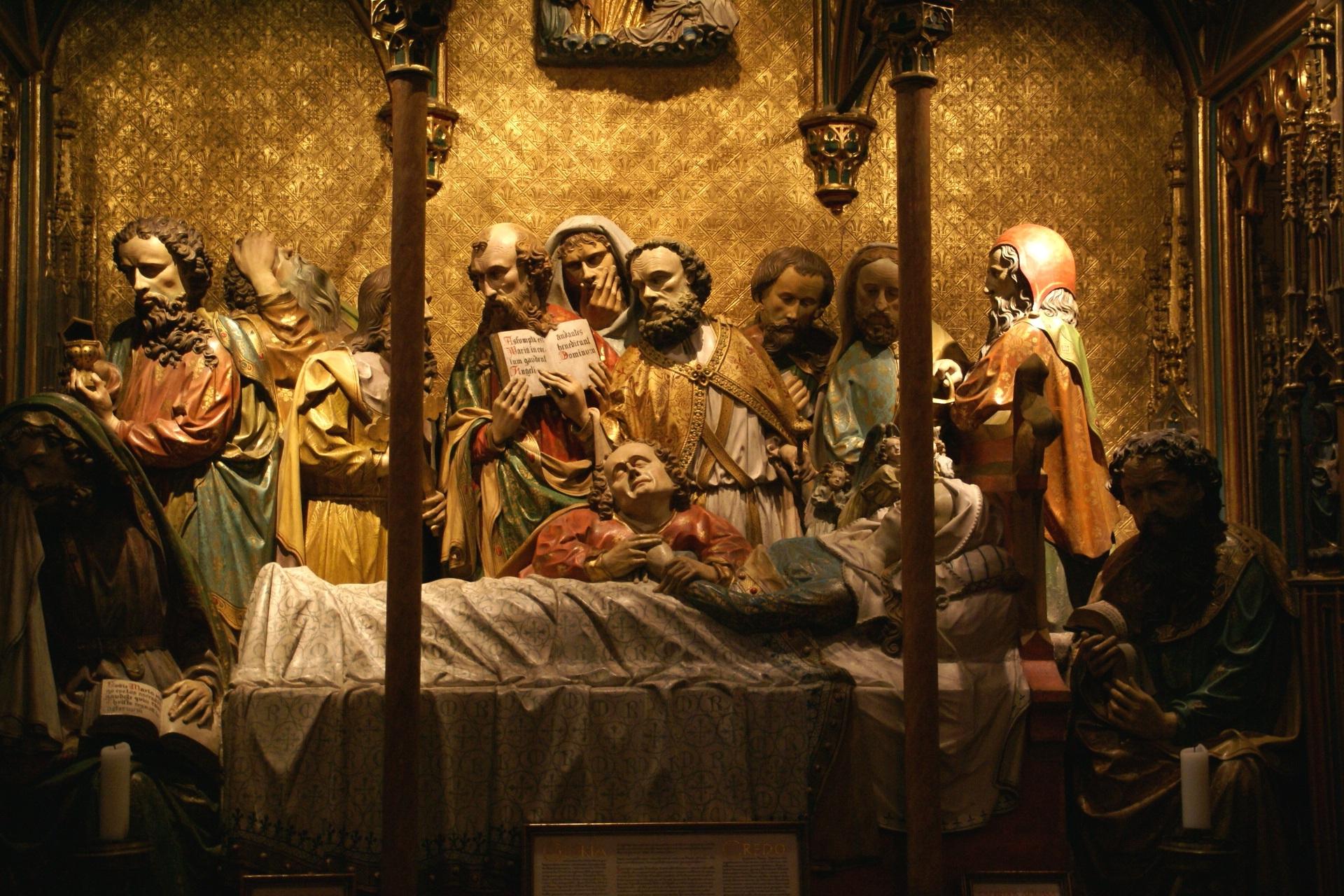 images gratuites int rieur d cor religieux art statues allemagne diorama chiffres. Black Bedroom Furniture Sets. Home Design Ideas