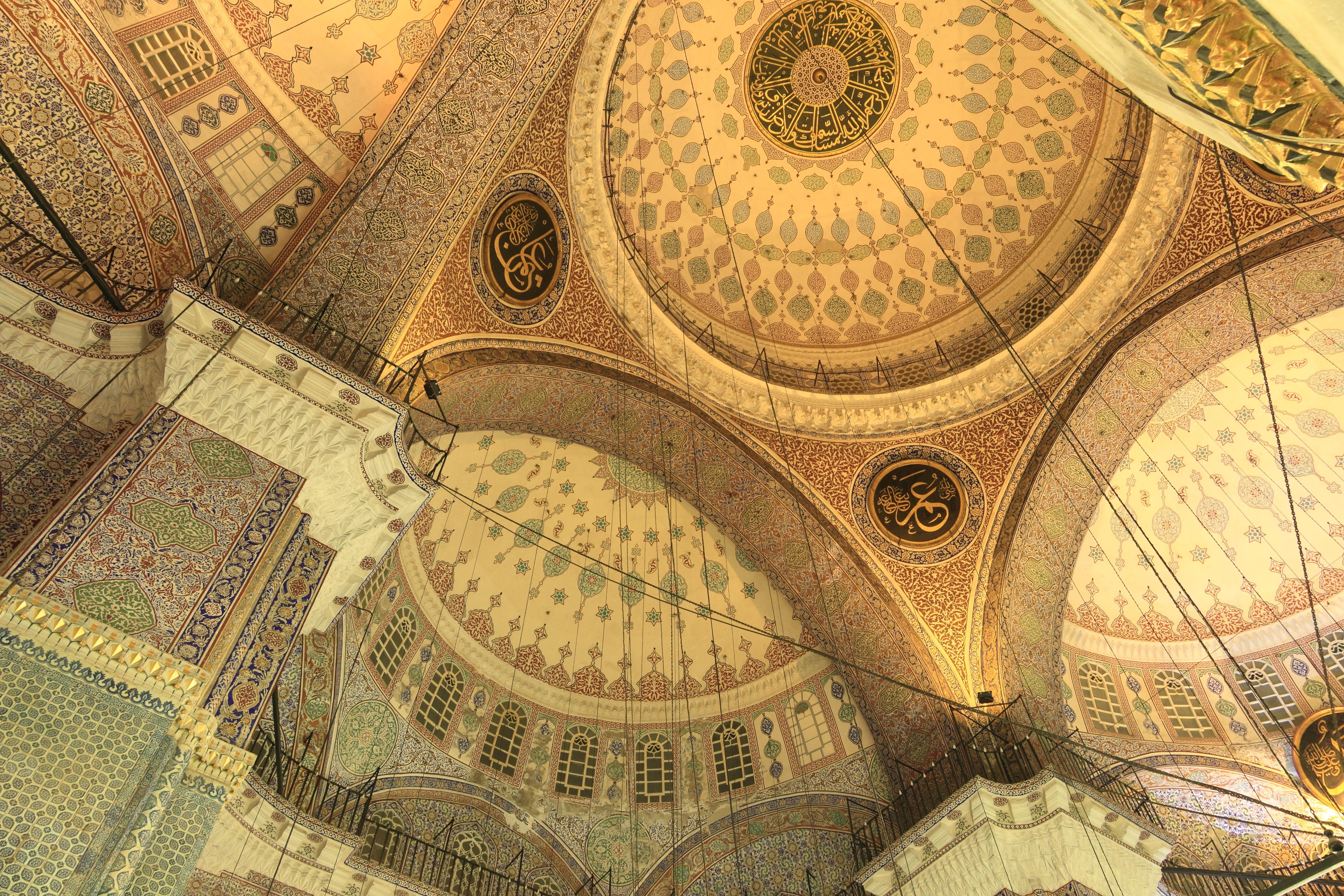 Fotoğraf Iç çatı Bina Desen Boyama Sanat Türkiye Simetri