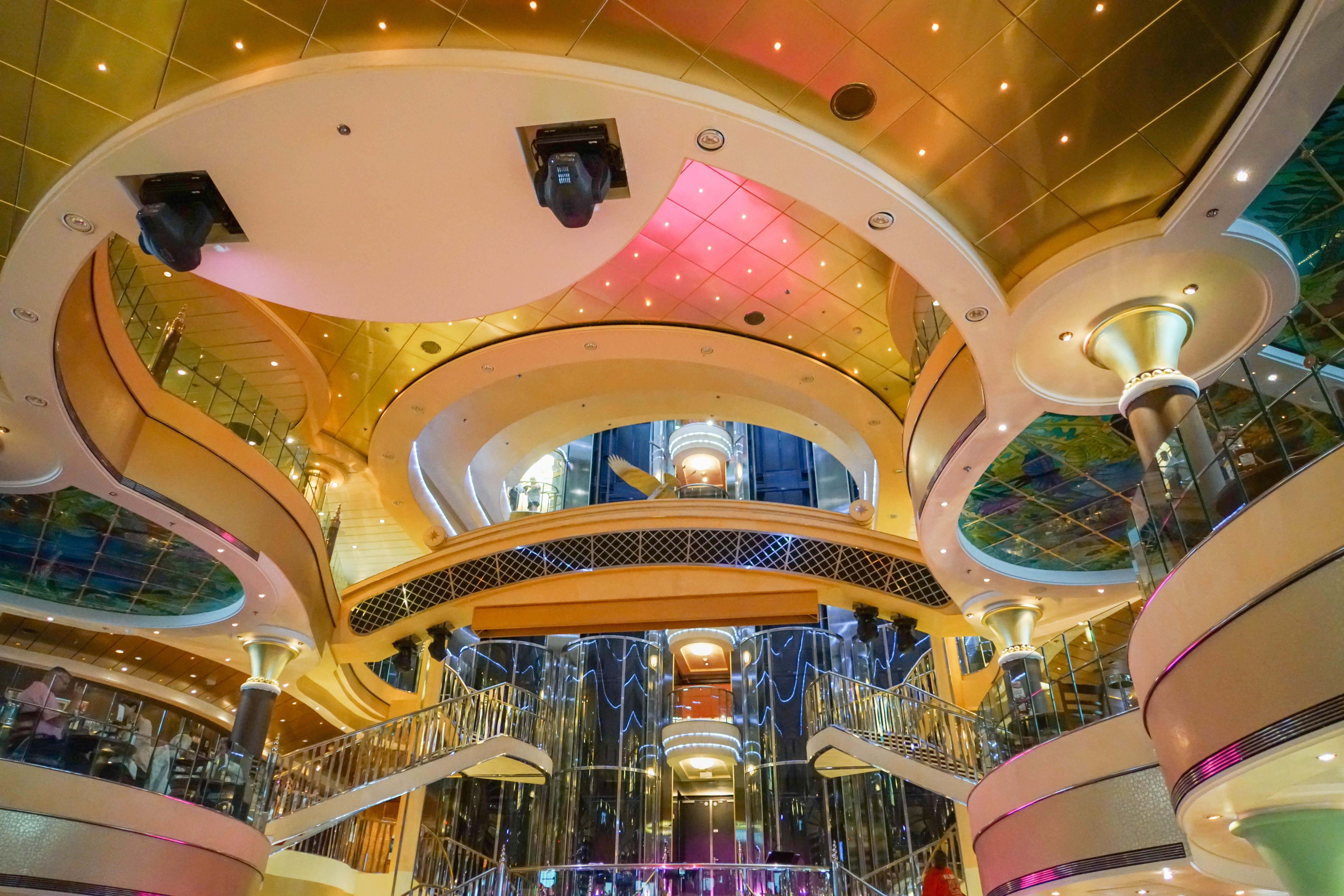 Free images interior travel transportation ceiling for Amusement park decoration ideas