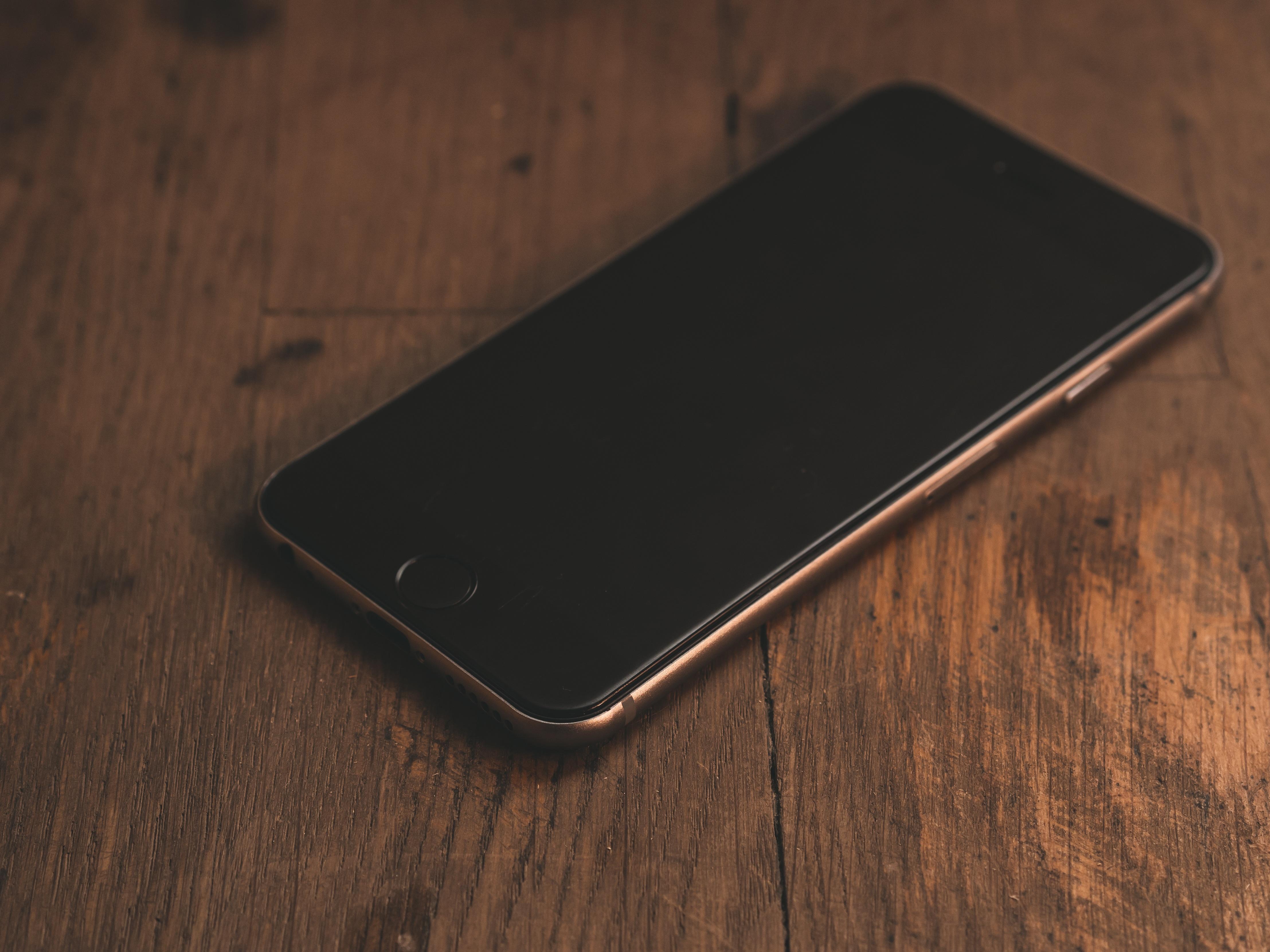 Fotos Gratis Iphone Escritorio Smartphone Pantalla