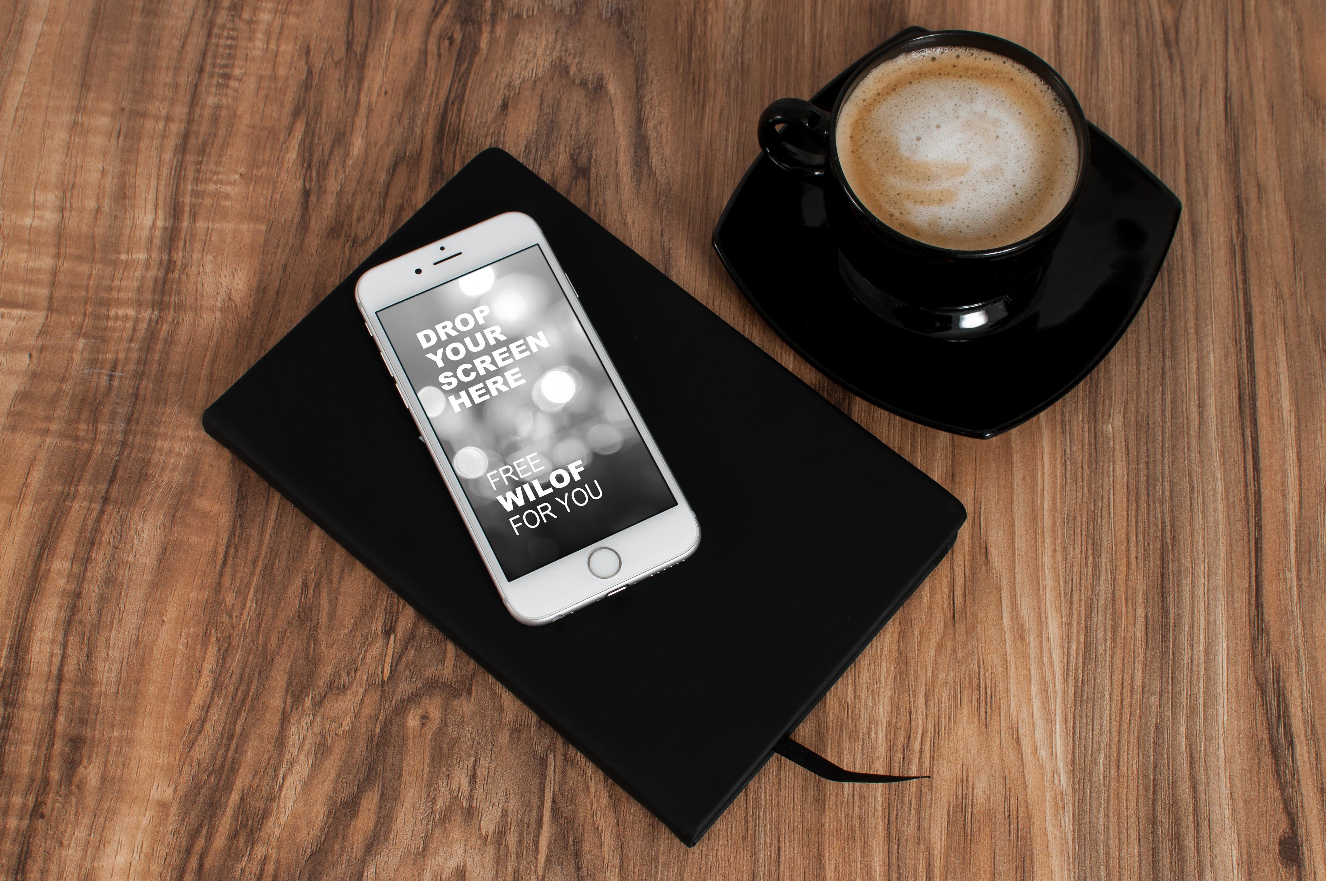 обычные обои на телефон айфон чашка кофе стильные красивые
