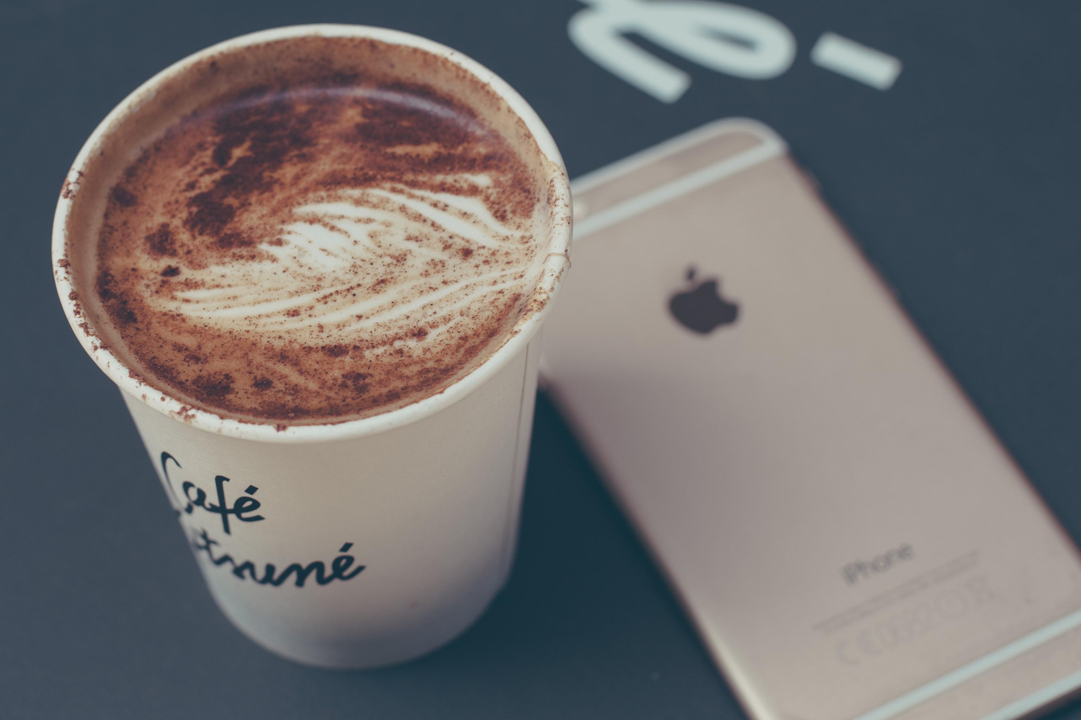 обои на телефон айфон чашка кофе читайте советы стилистов