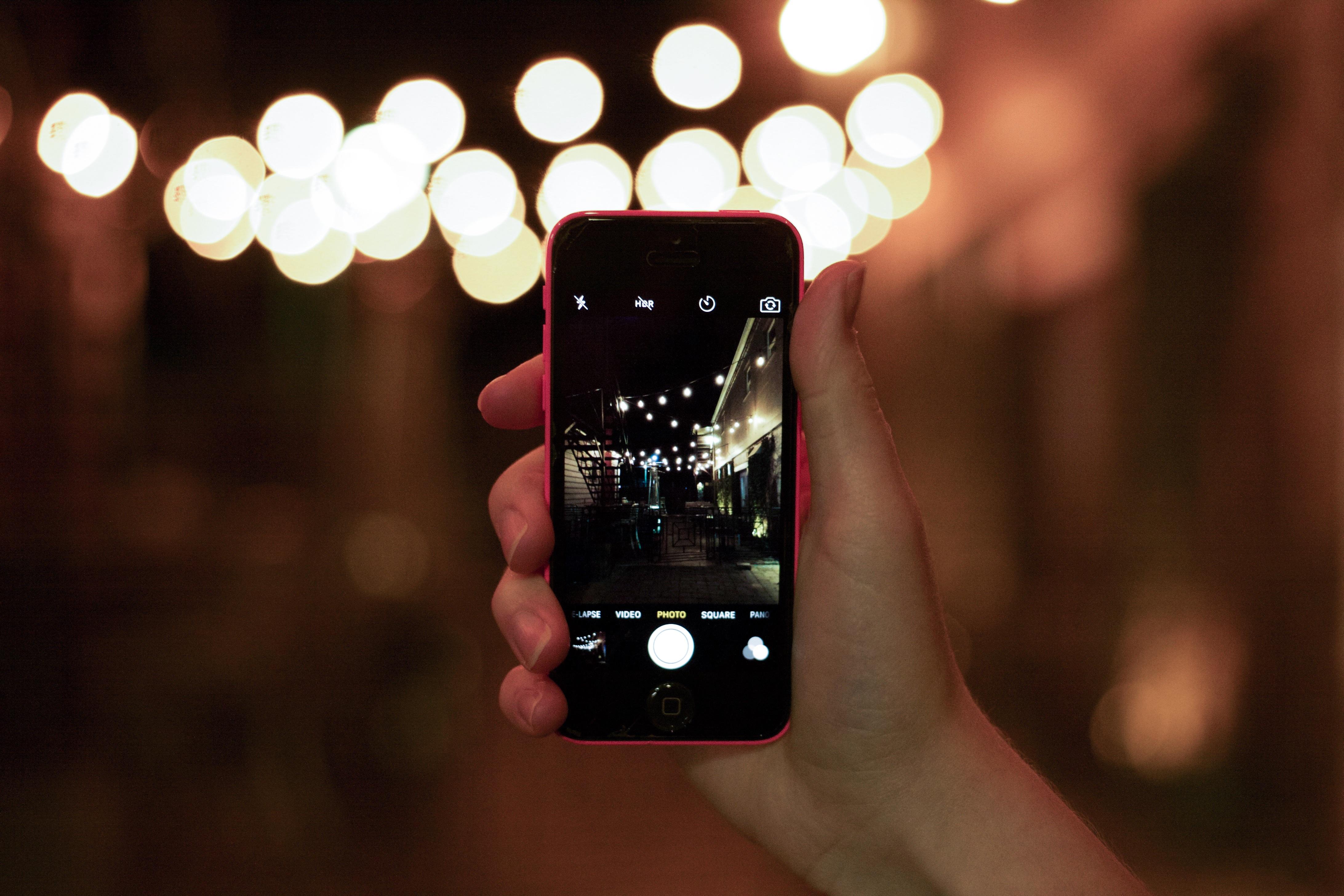 Как делать красивые фото на смартфон