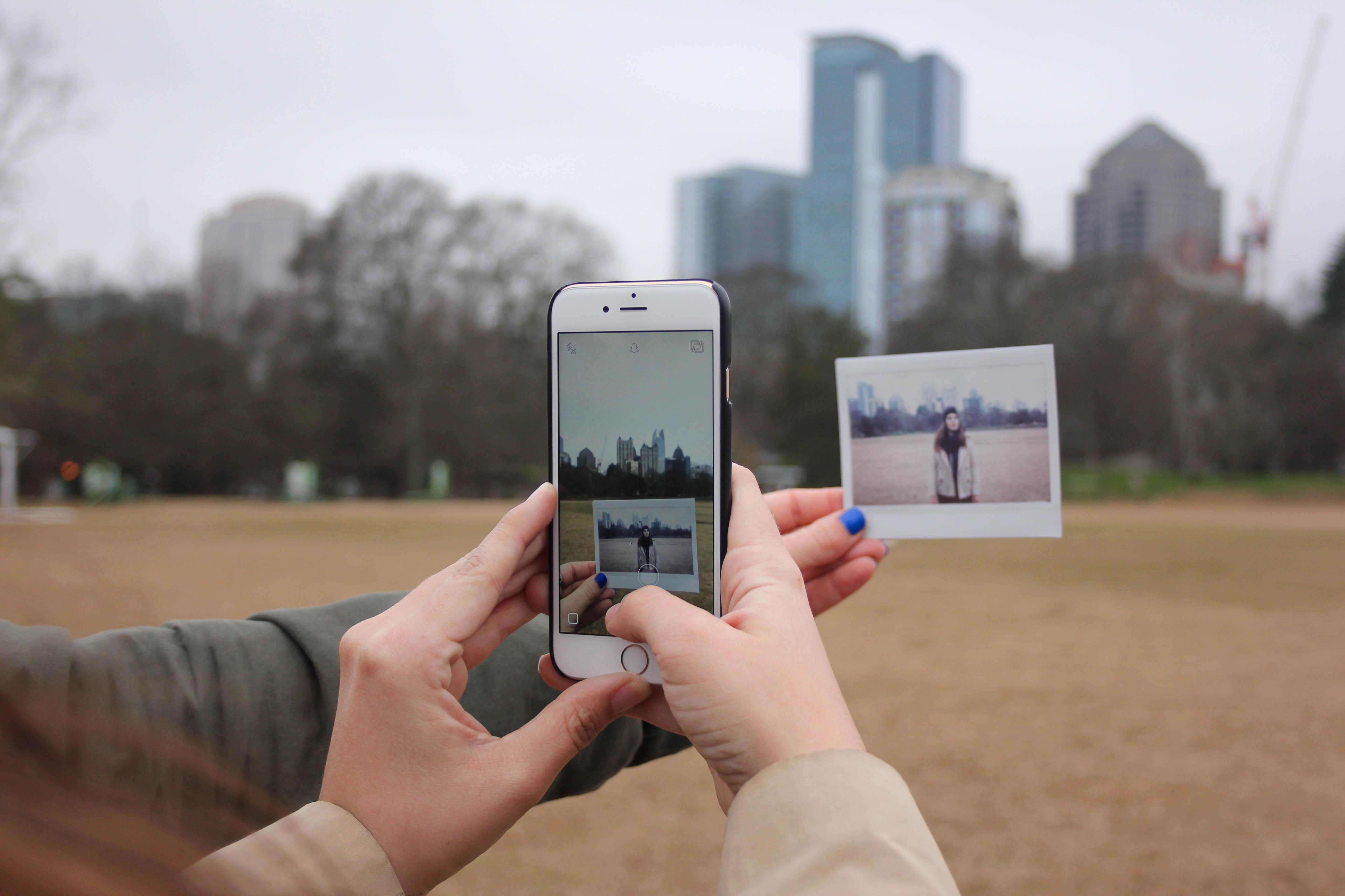 Как сделать красивые фото в iphone