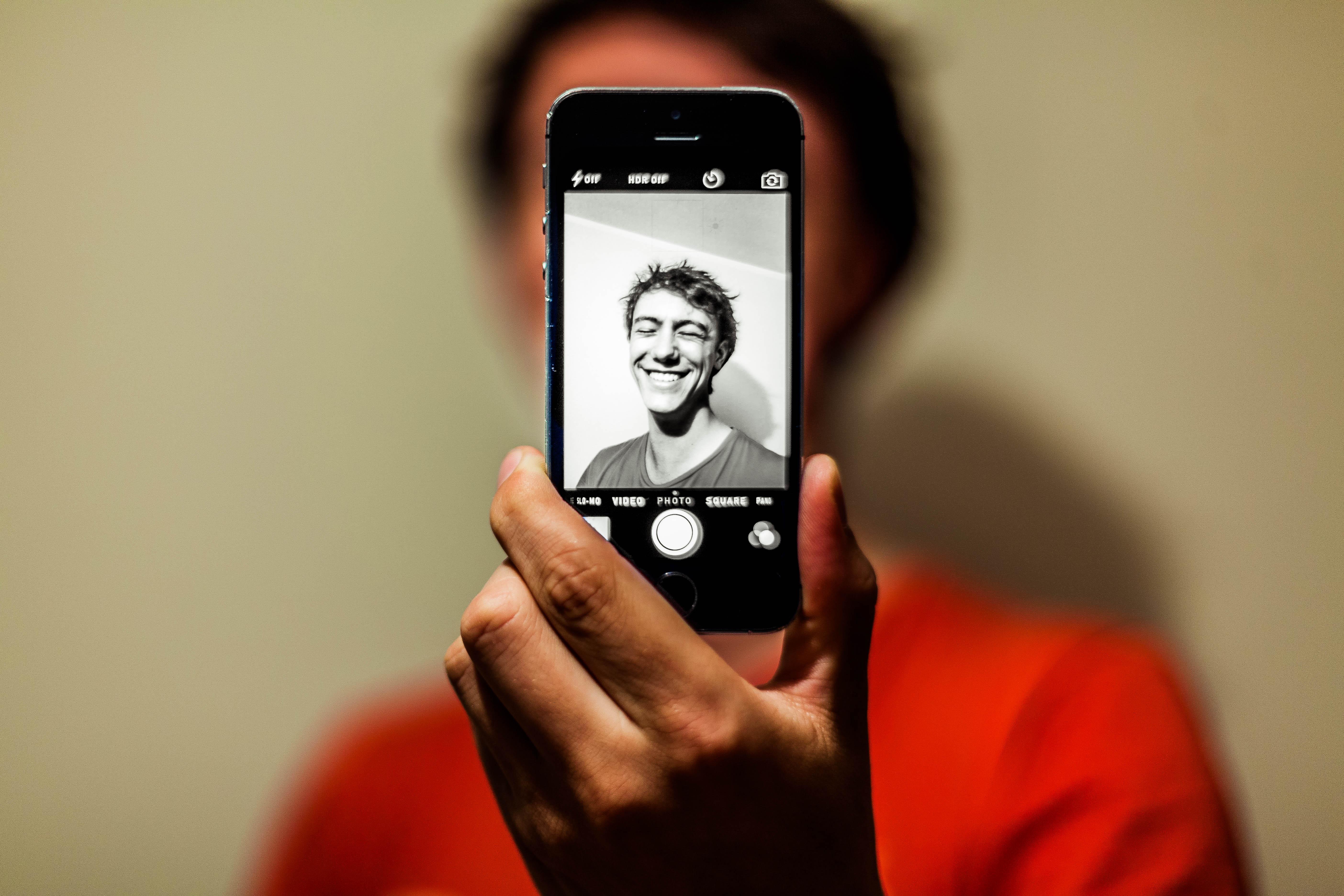 Как сделать из фото рисунок на айфоне опыт