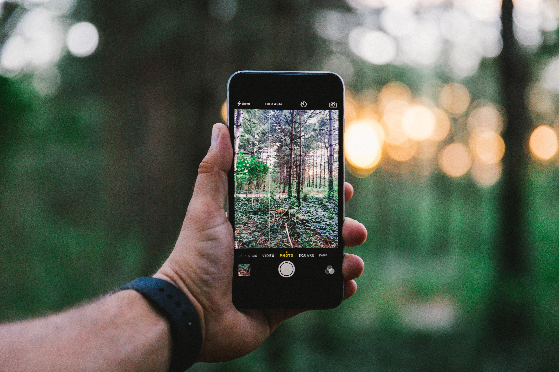 телефон искажает фотографии несколько десятков лет