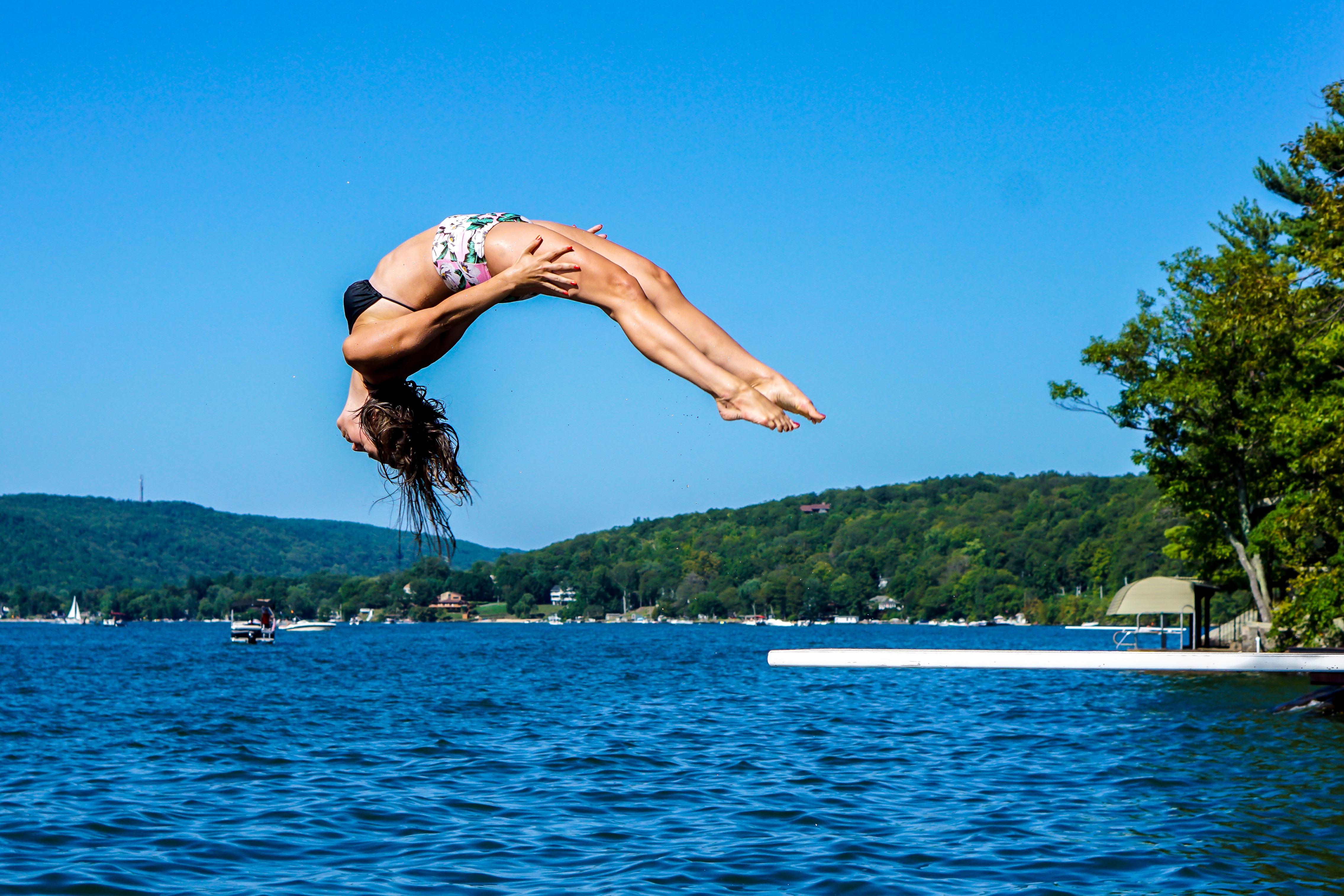 как снять фото в прыжке творогом вишней пошаговый