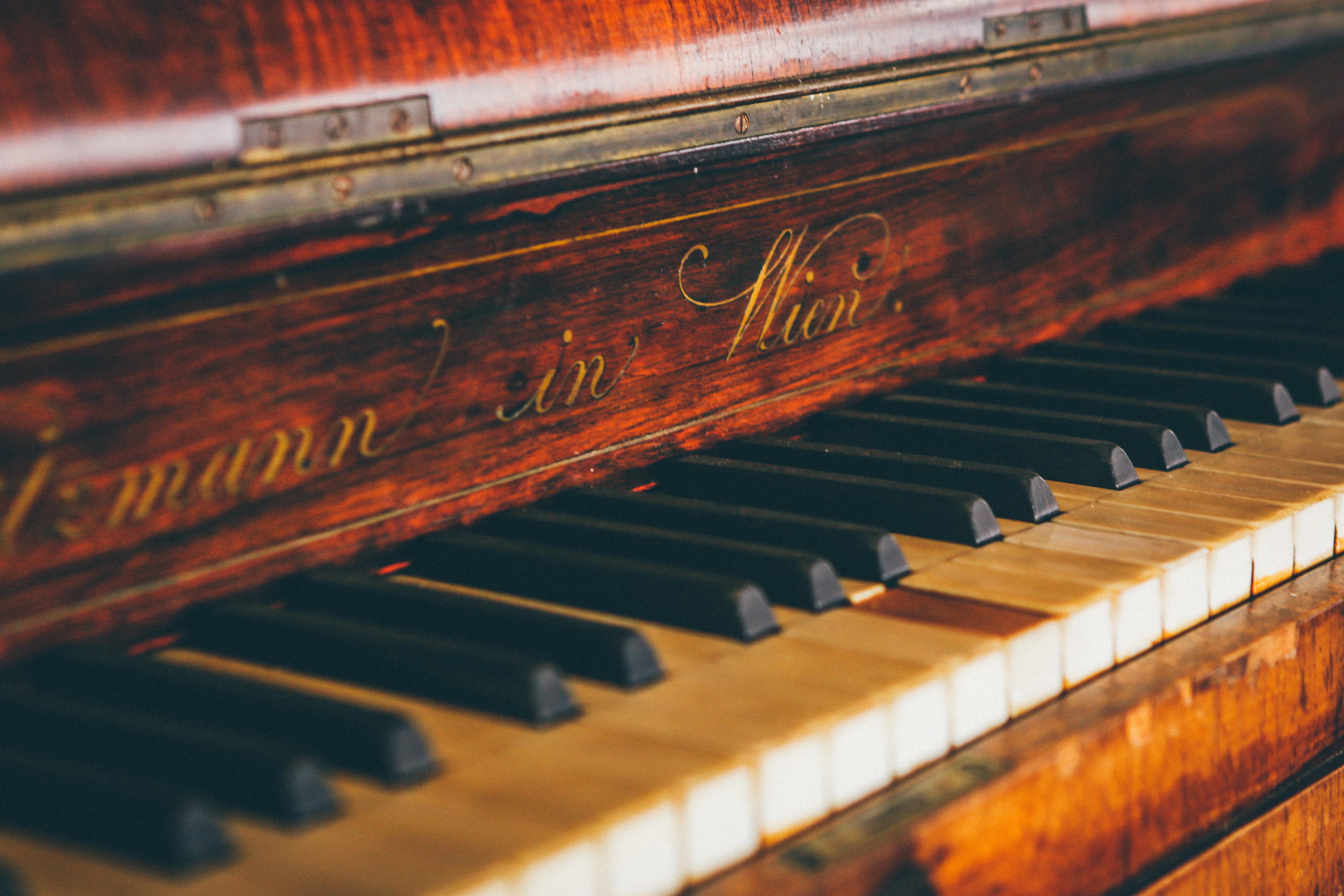 задумка красивые картинки про пианино легко