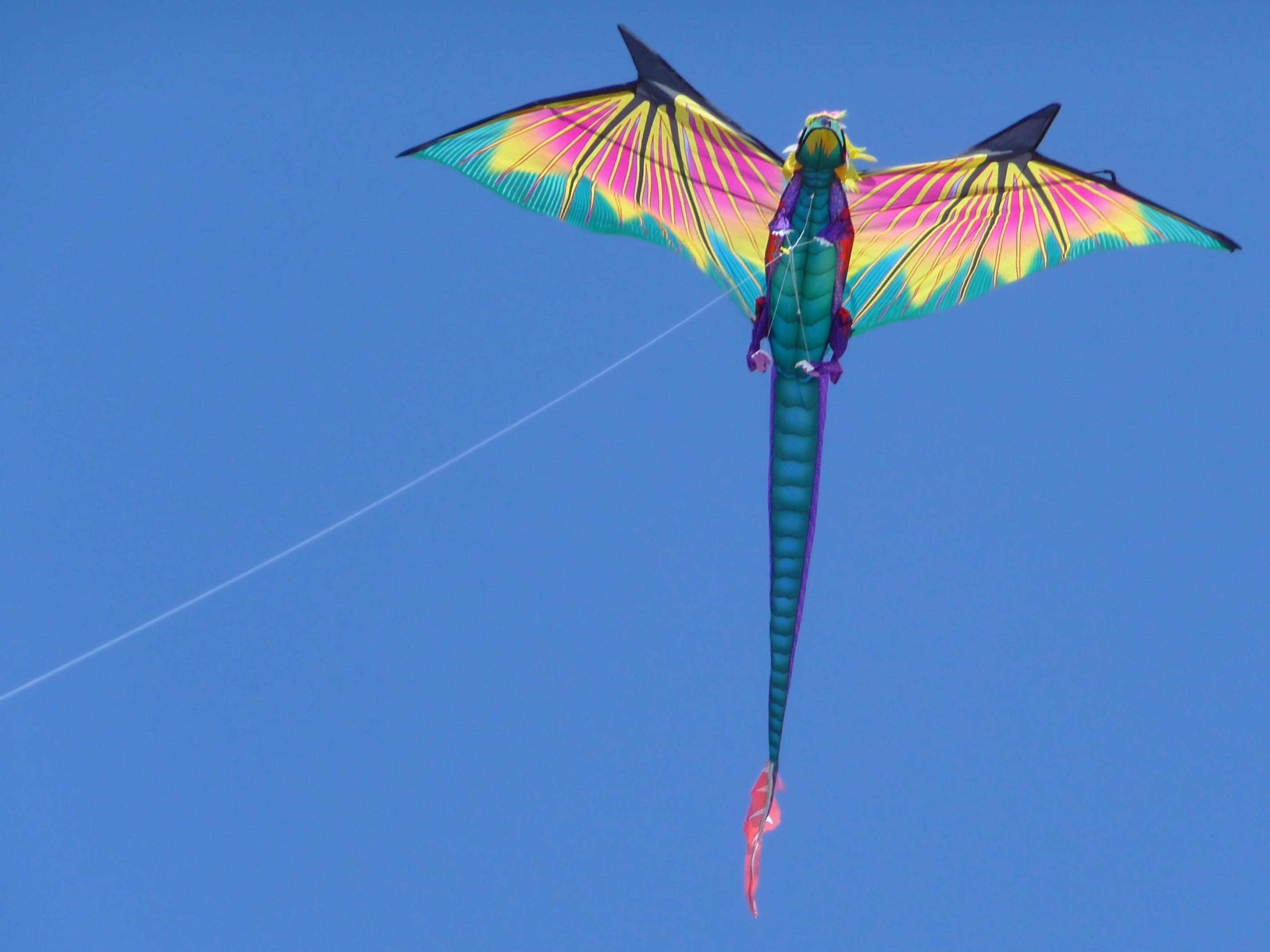Воздушный змей своими руками с картинками
