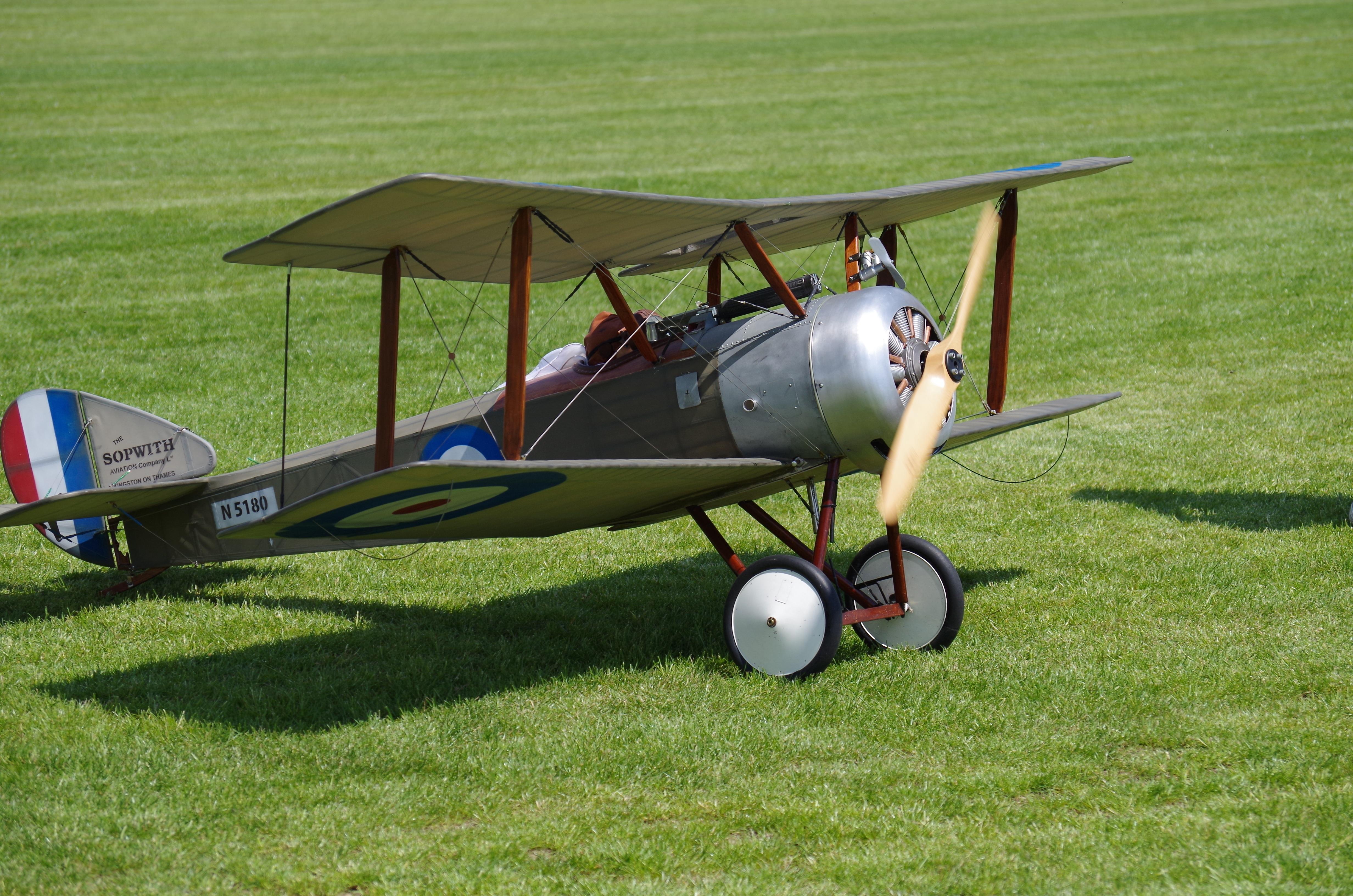 Free Images : land, airplane, vehicle, flight, biplane, fighter