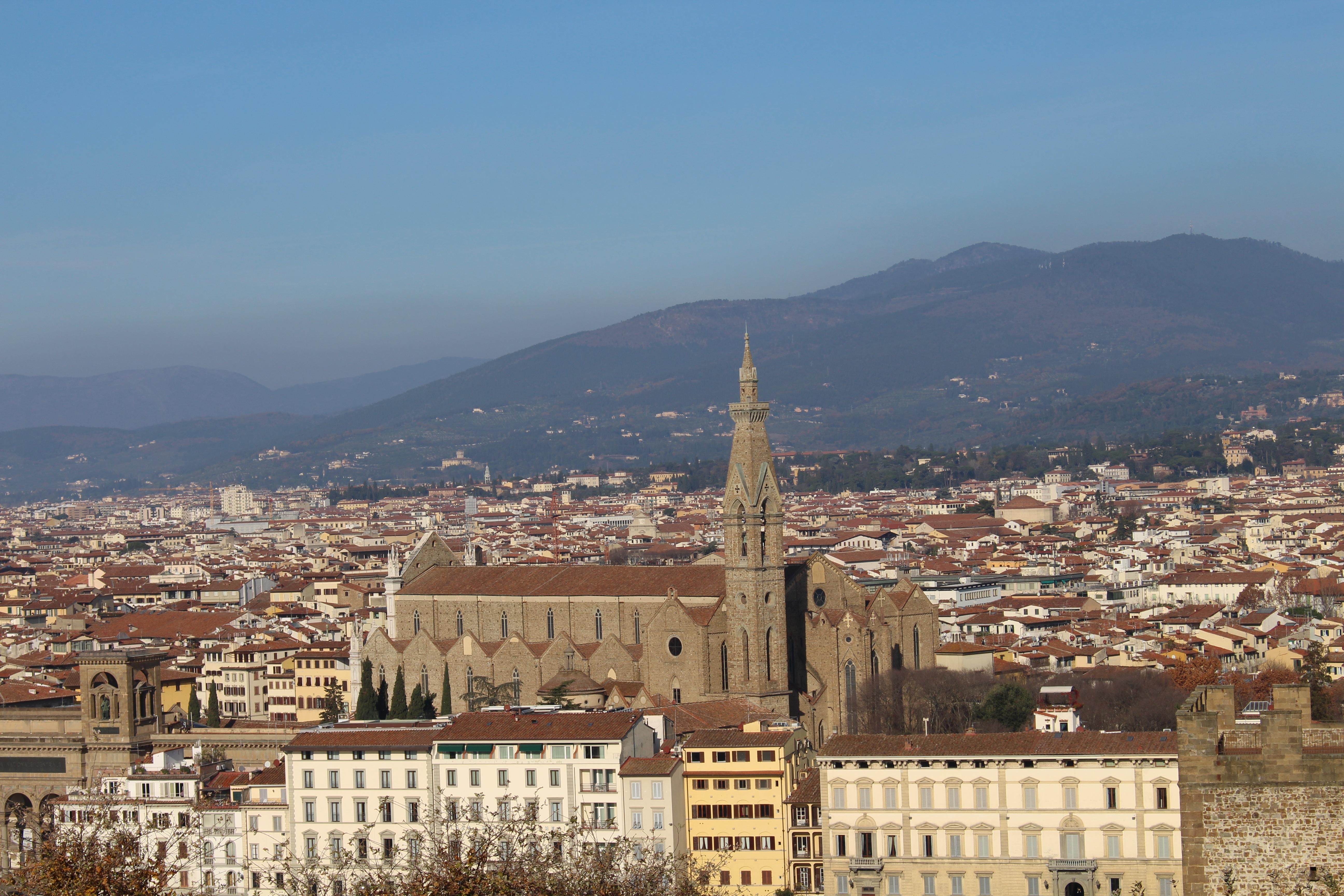 Famous Italian Architecture free images : landscape, architecture, sky, skyline, town