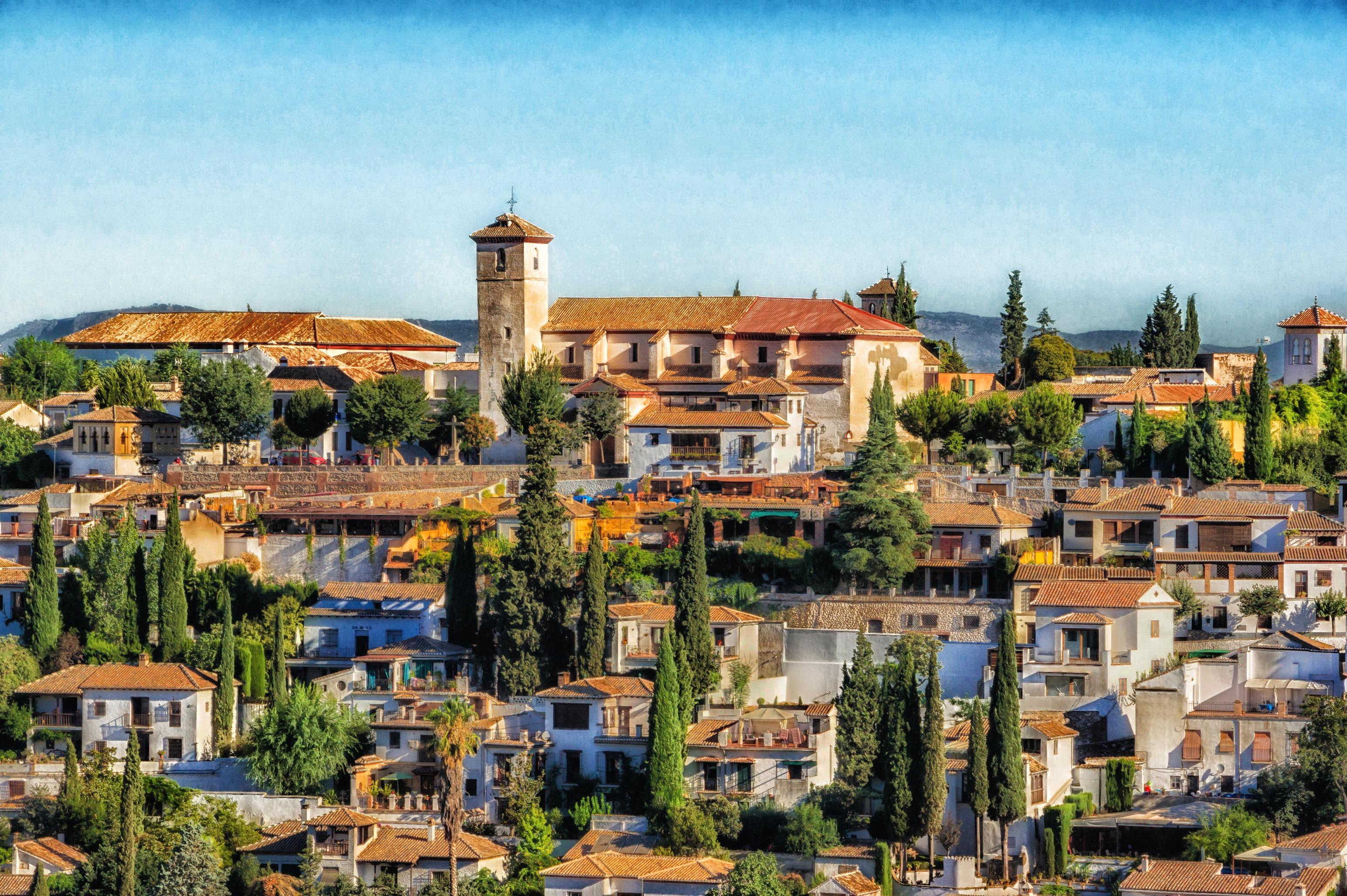 Fotos gratis paisaje arquitectura cielo horizonte for La casa de granada en madrid