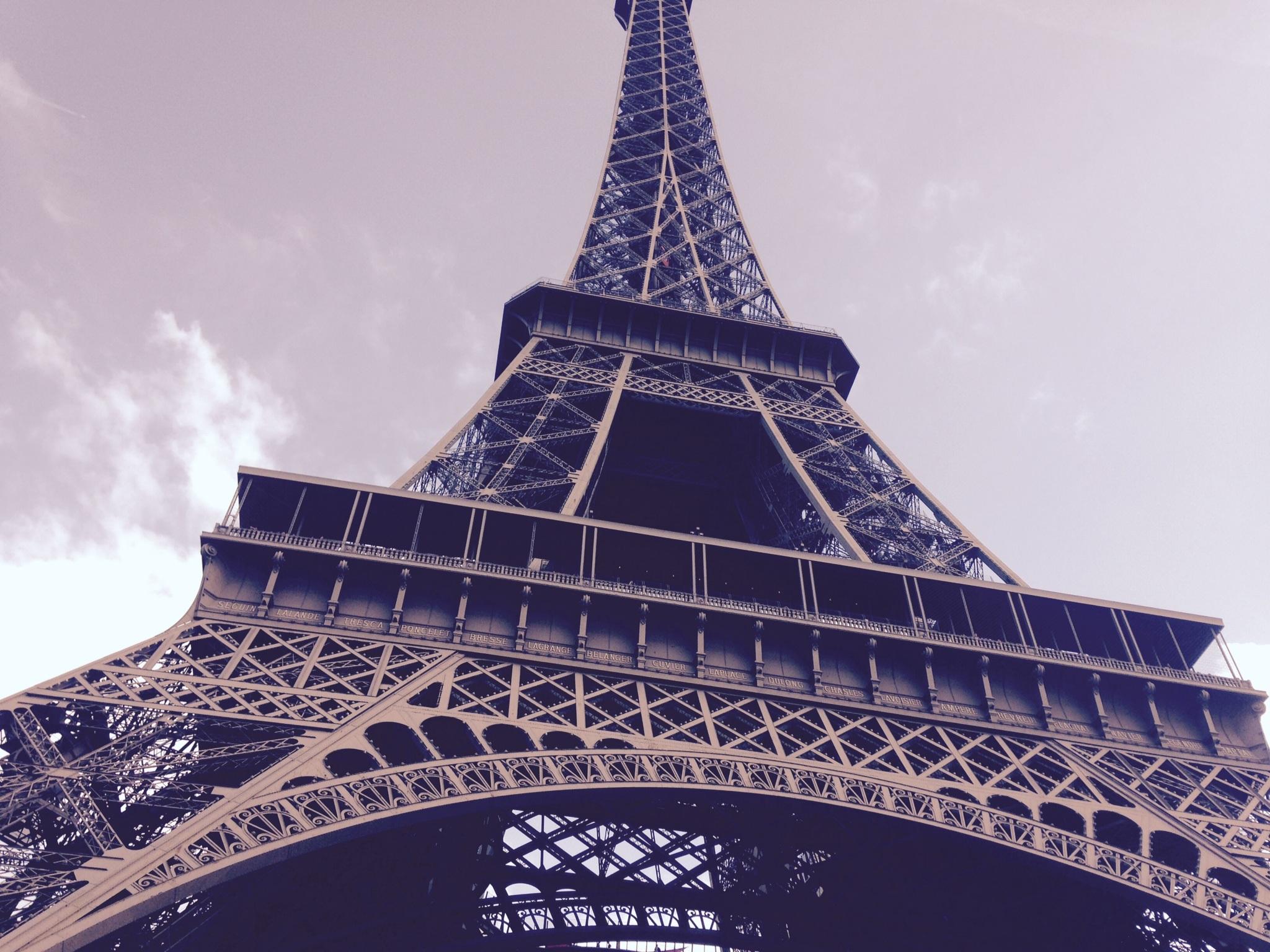 Free images landscape architecture structure sky for Eiffel architect