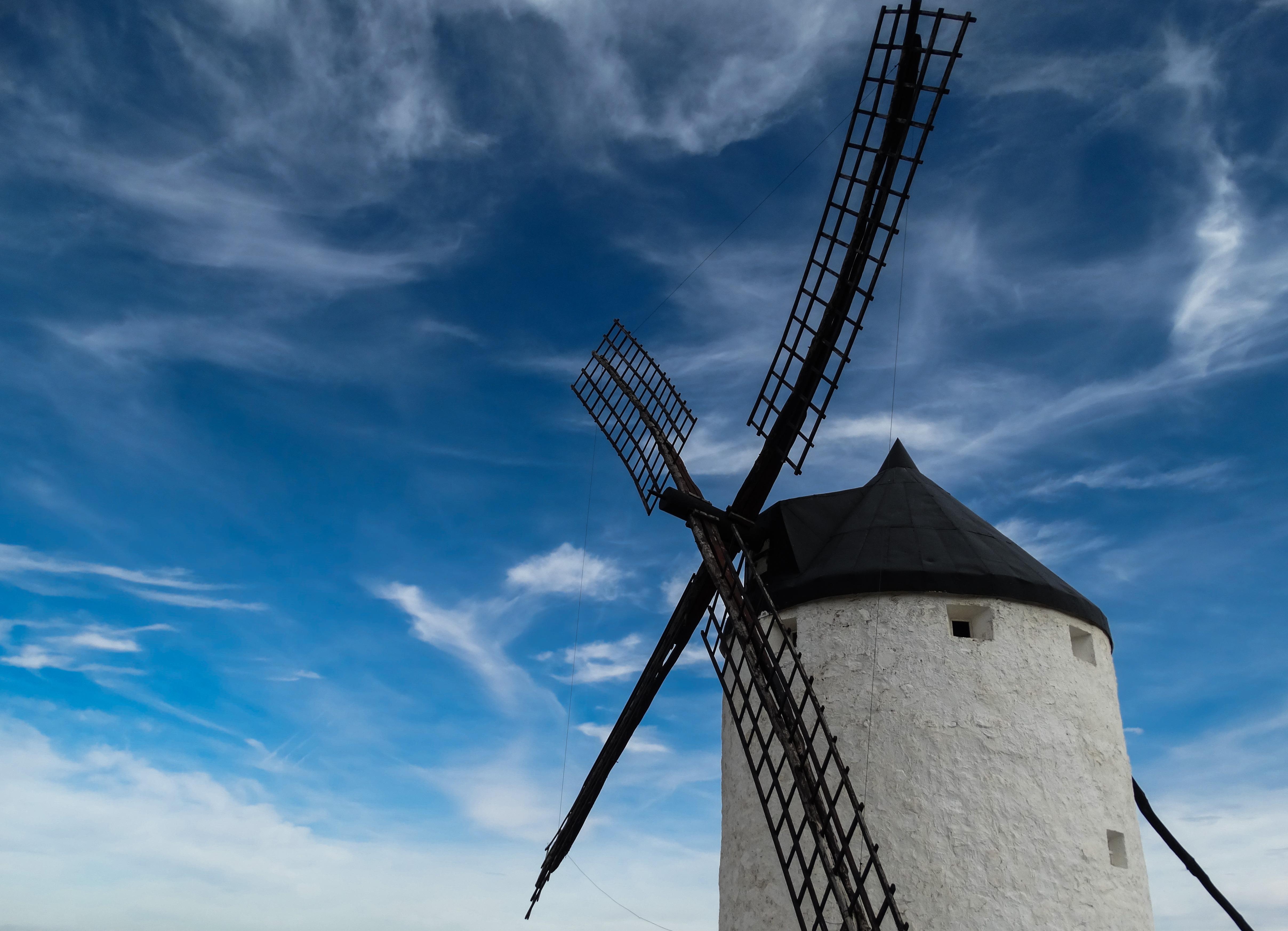Free Images Landscape Cloud Sky Sunset Windmill