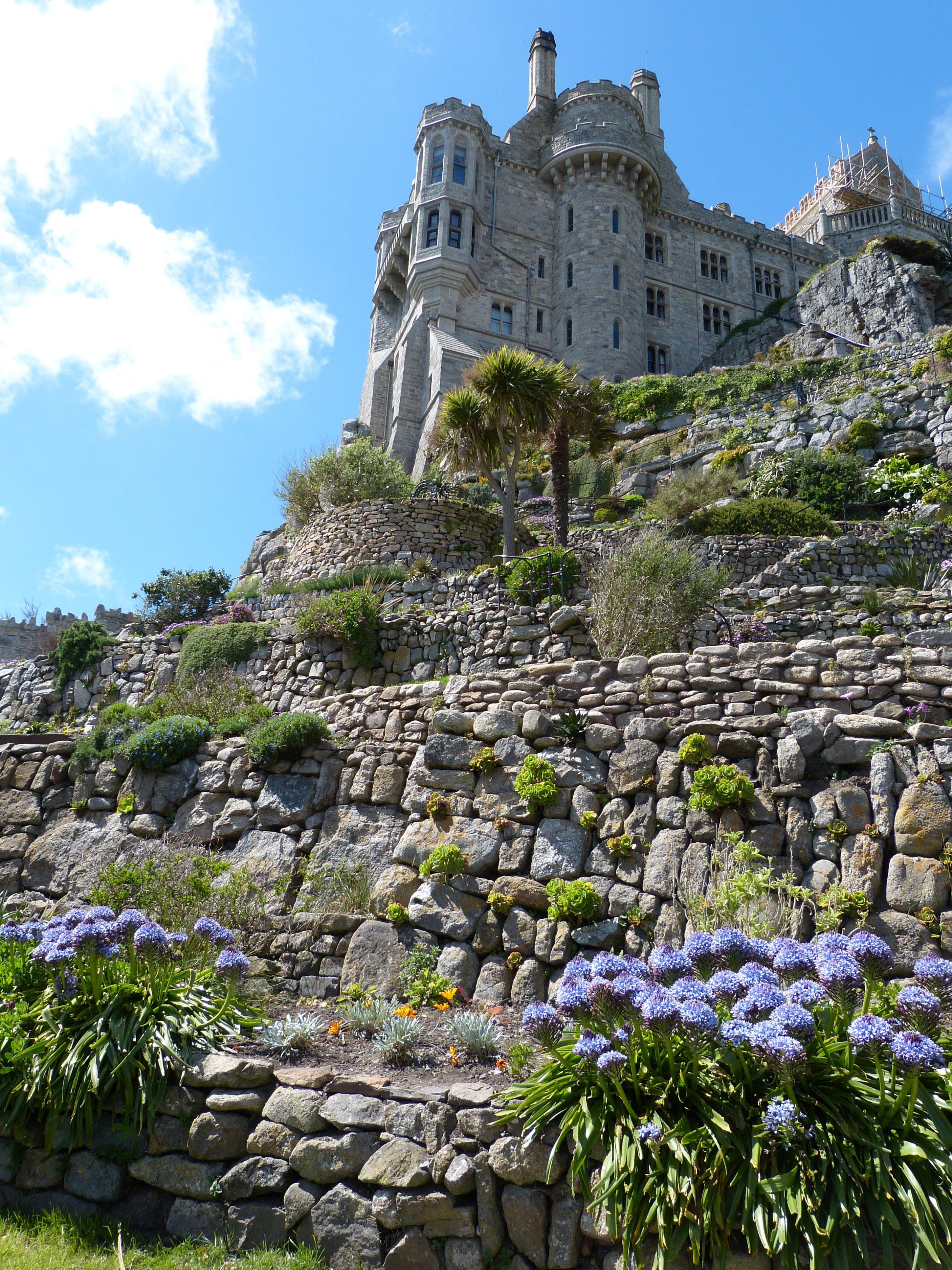 Images gratuites paysage c te roche montagne fleur cha ne de montagnes vacances parc - Jardin botanique de cornouaille ...