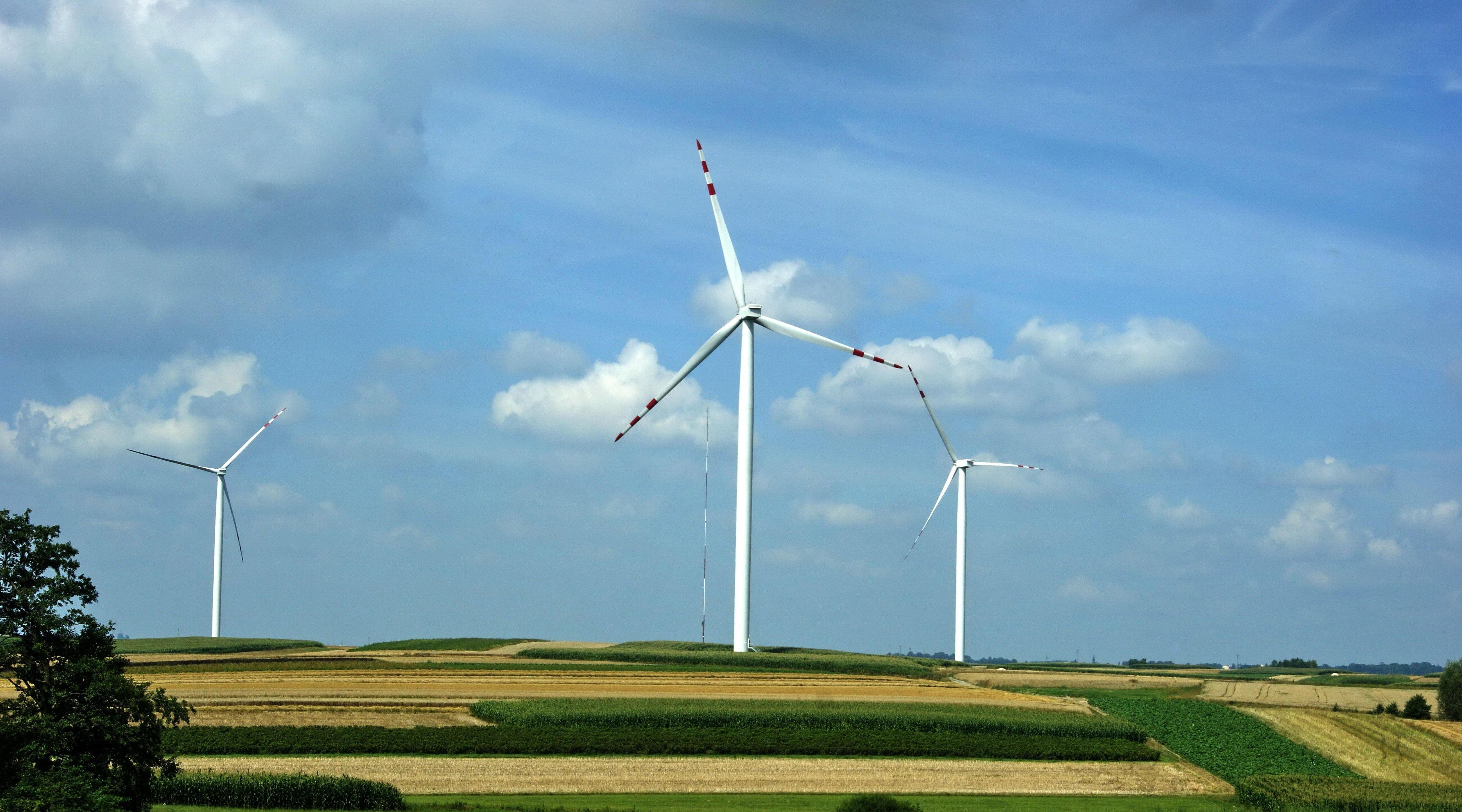 Free landscape field prairie rural machine wind