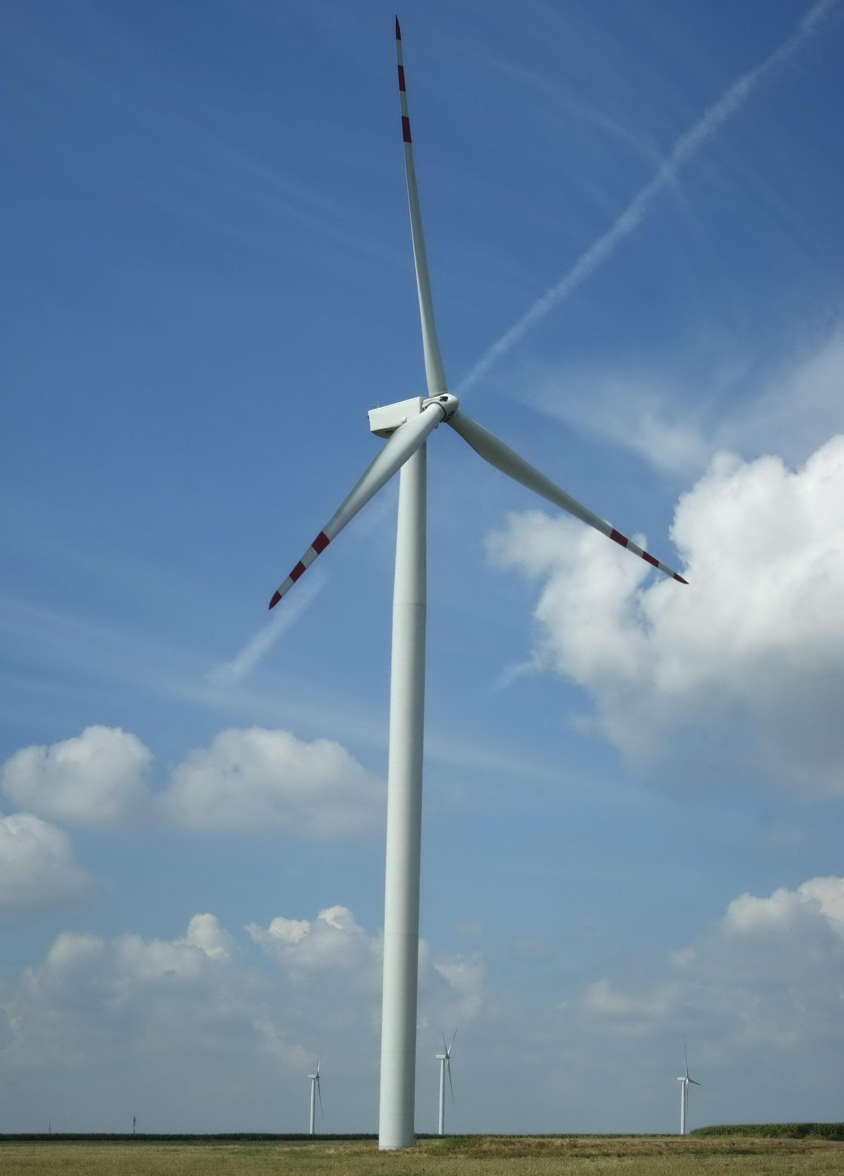 Free landscape field rural mast machine wind turbine