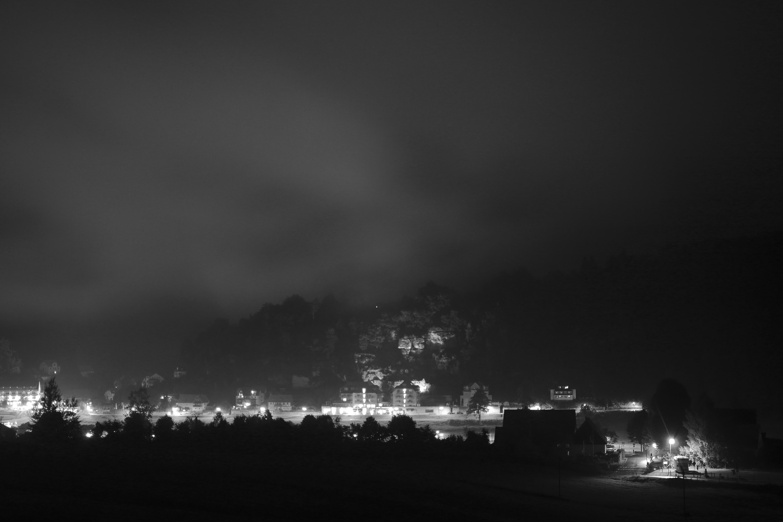 Free Images Landscape Forest Light Cloud Black And