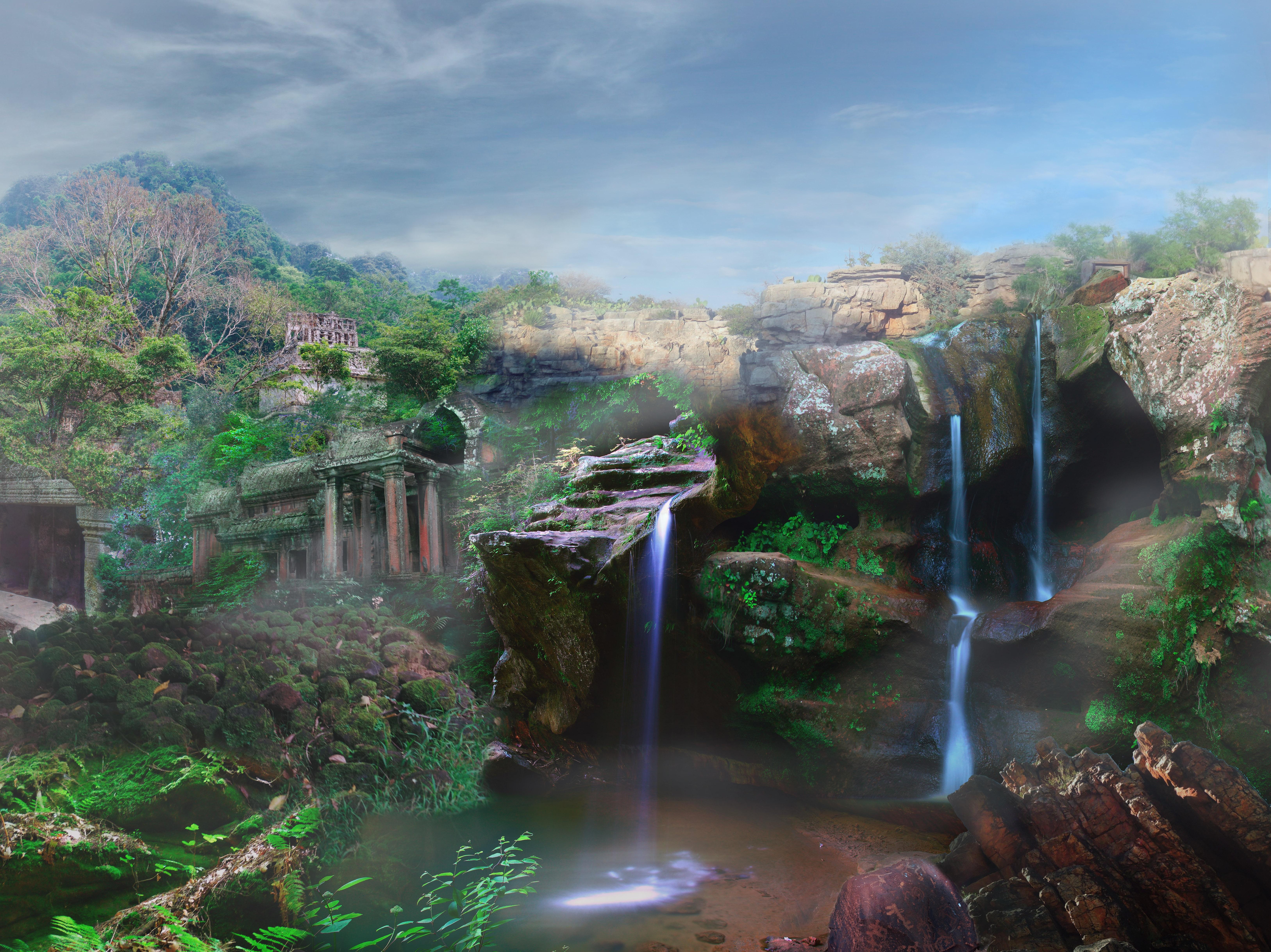 83 Gambar Pemandangan Fantasi Terlihat Keren
