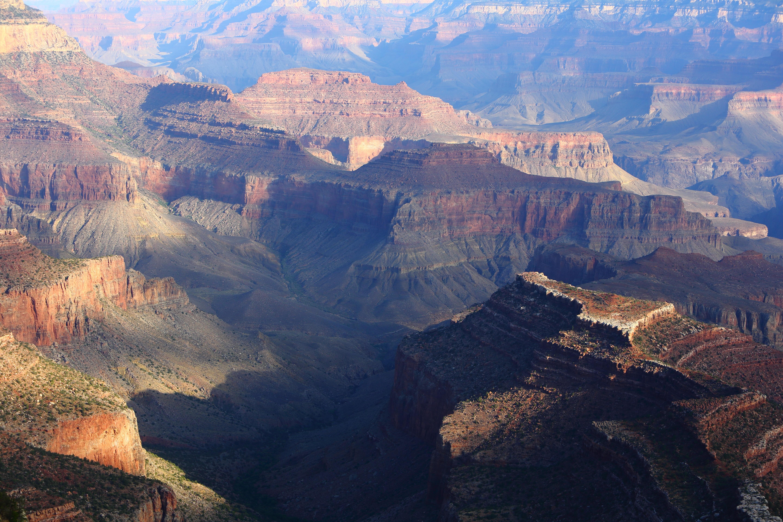 Gambar Pemandangan Pembentukan Alam Ngarai Taman Nasional Amerika Serikat Geologi