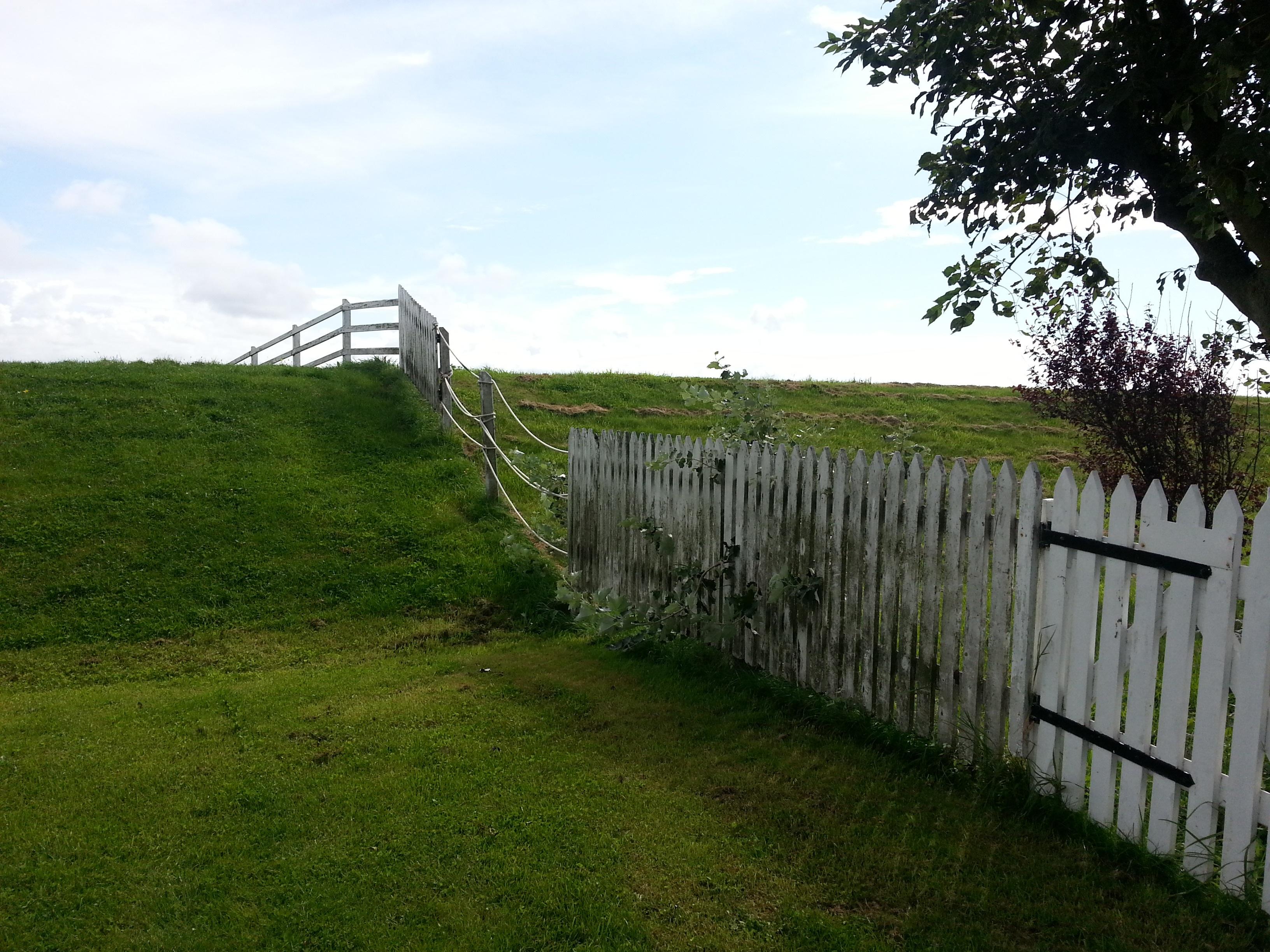 Kostenlose foto Landschaft Gras Zaun Feld Wiese Weide