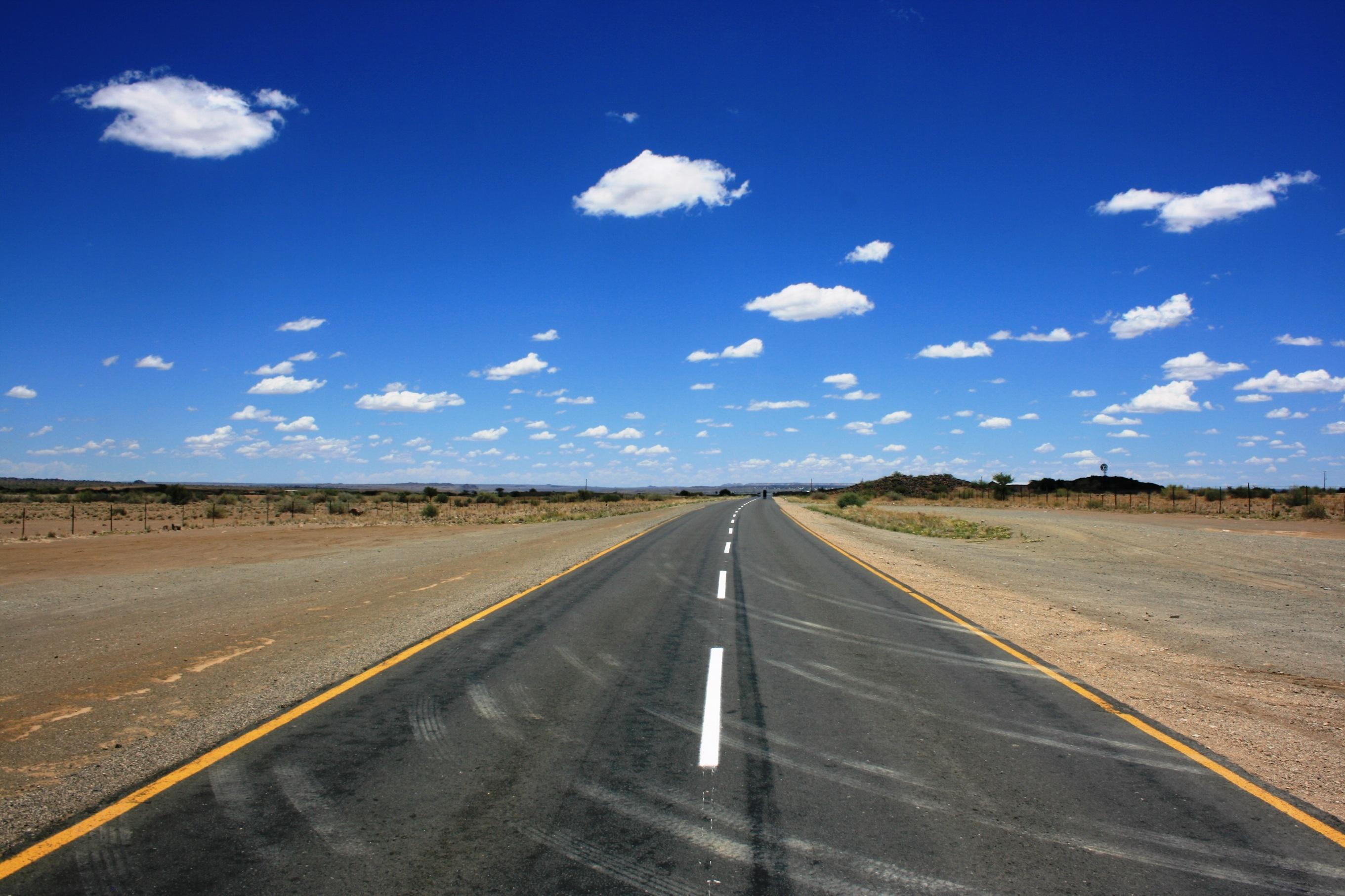 Images gratuites paysage horizon nuage route champ for Agence horizon paysage