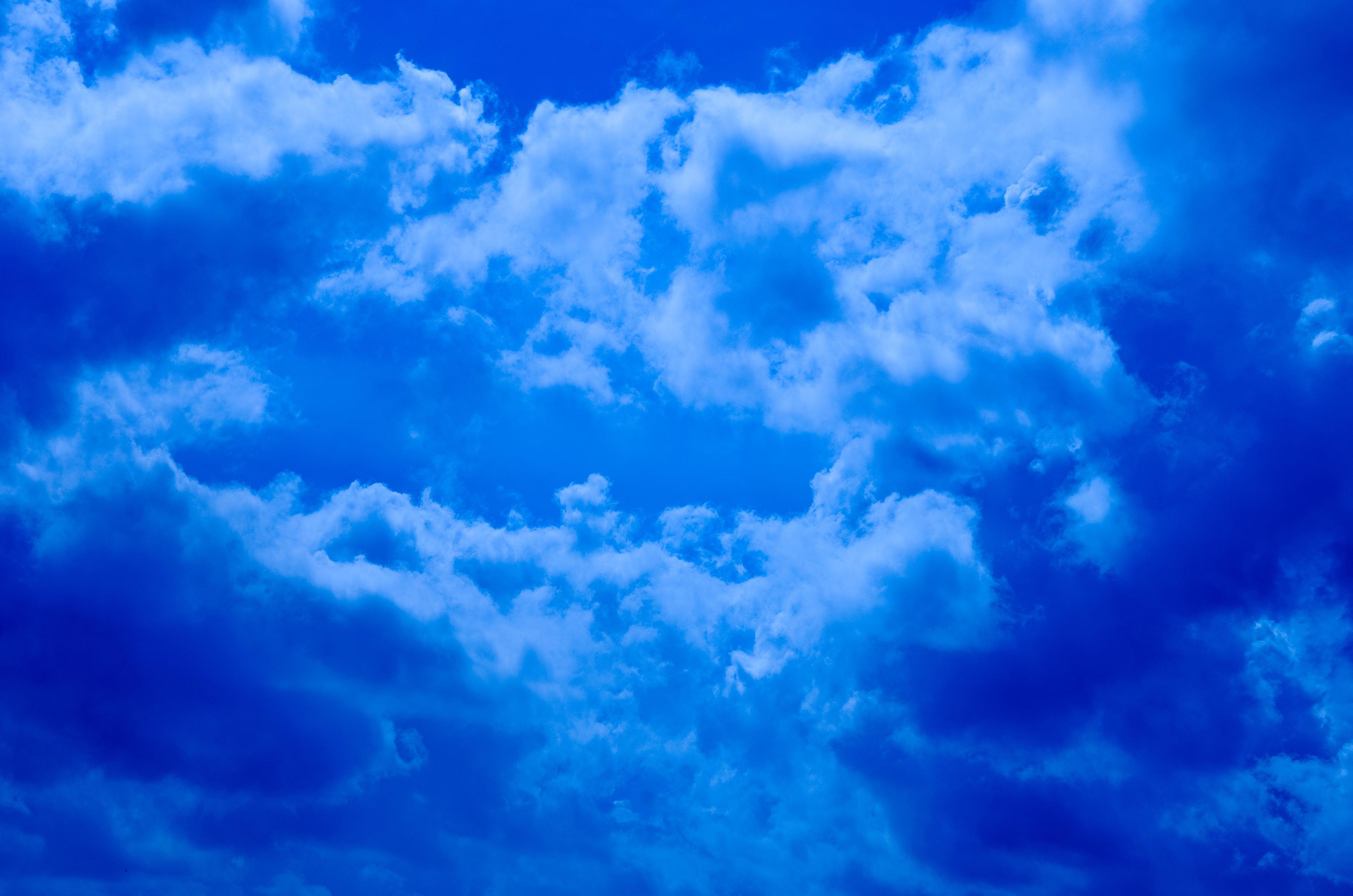 что представляют открытка голубого неба предварительно