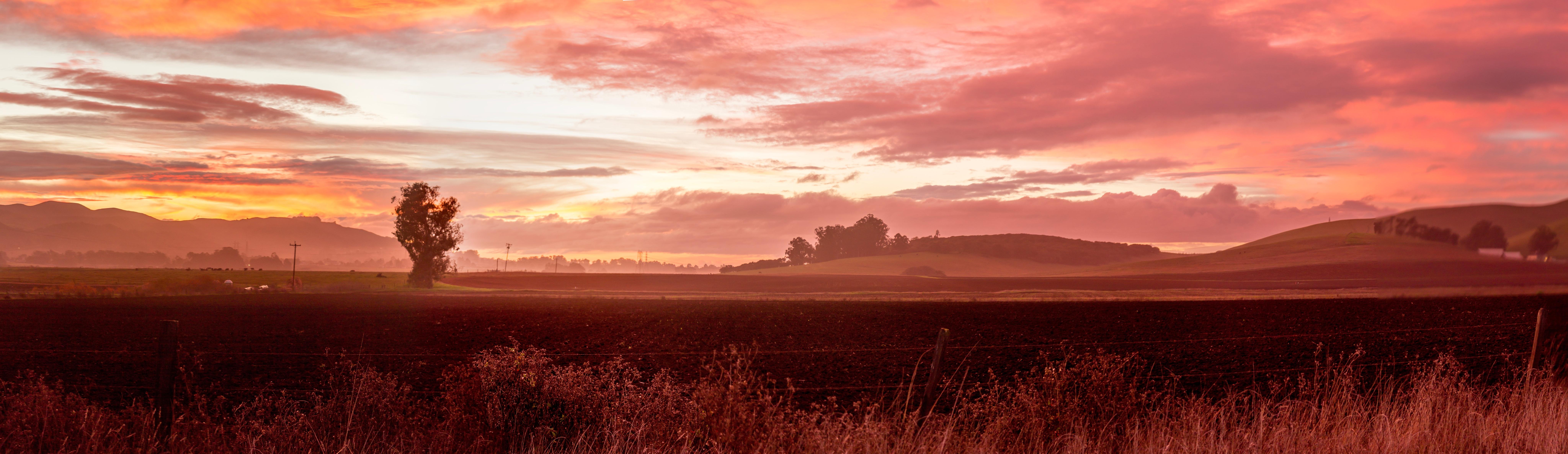 Free Images Landscape Horizon Cloud Sunrise Sunset Prairie