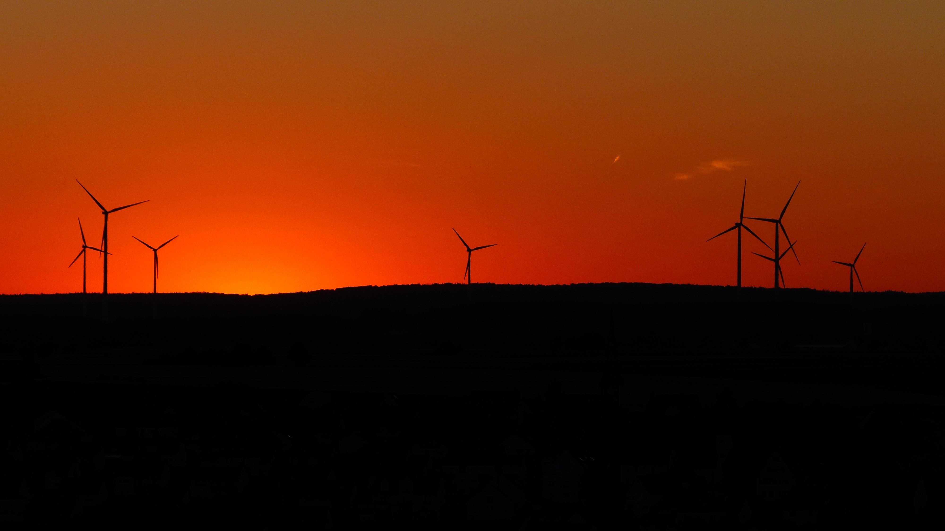 Free landscape horizon sunrise sunset field prairie