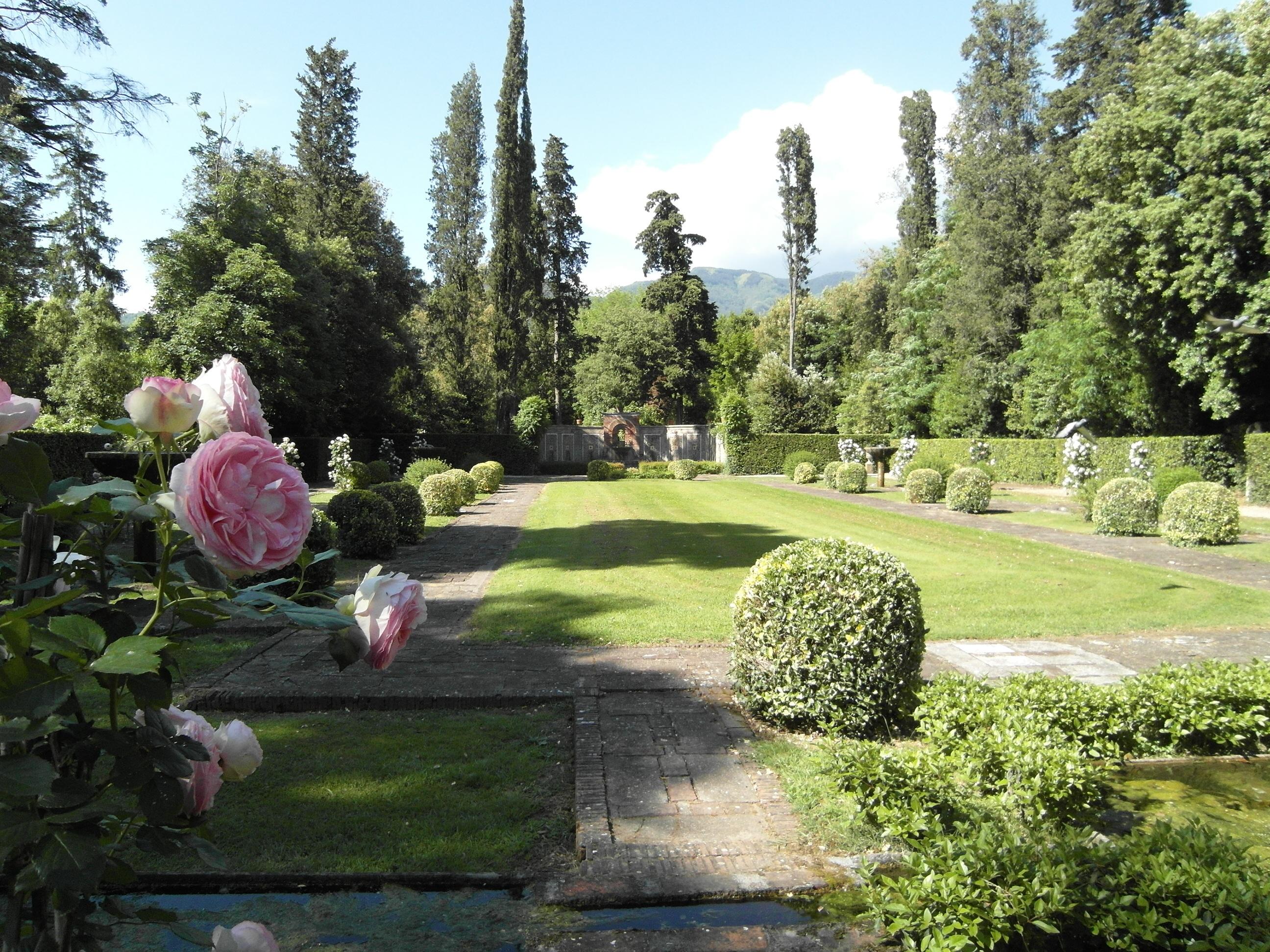 Images gratuites paysage pelouse panorama tang for Jardin de toscane