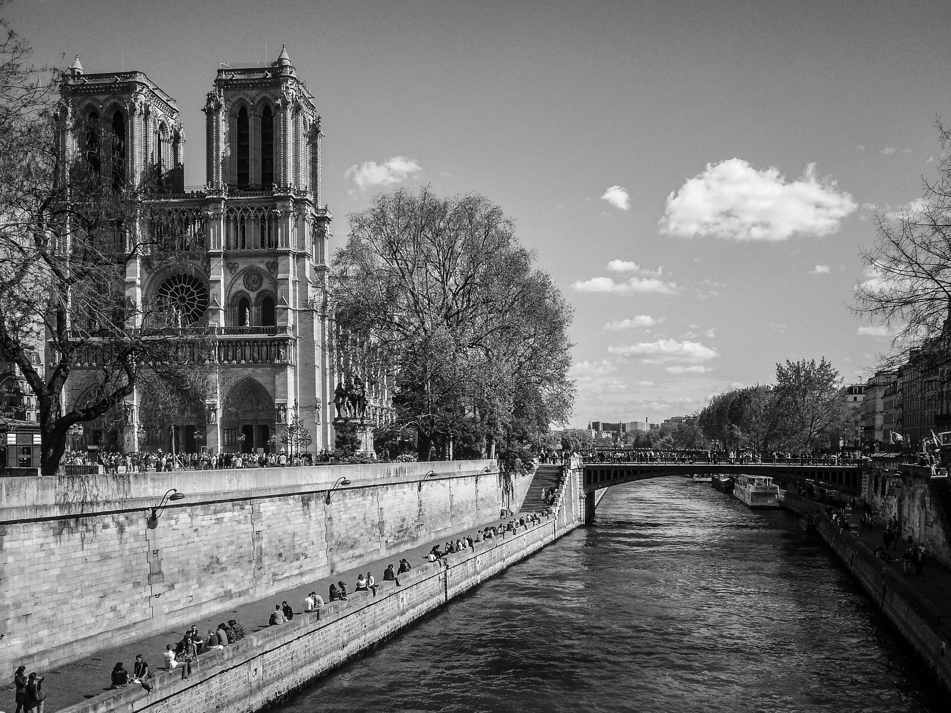 Images gratuites paysage lumi re noir et blanc for Paris paysage