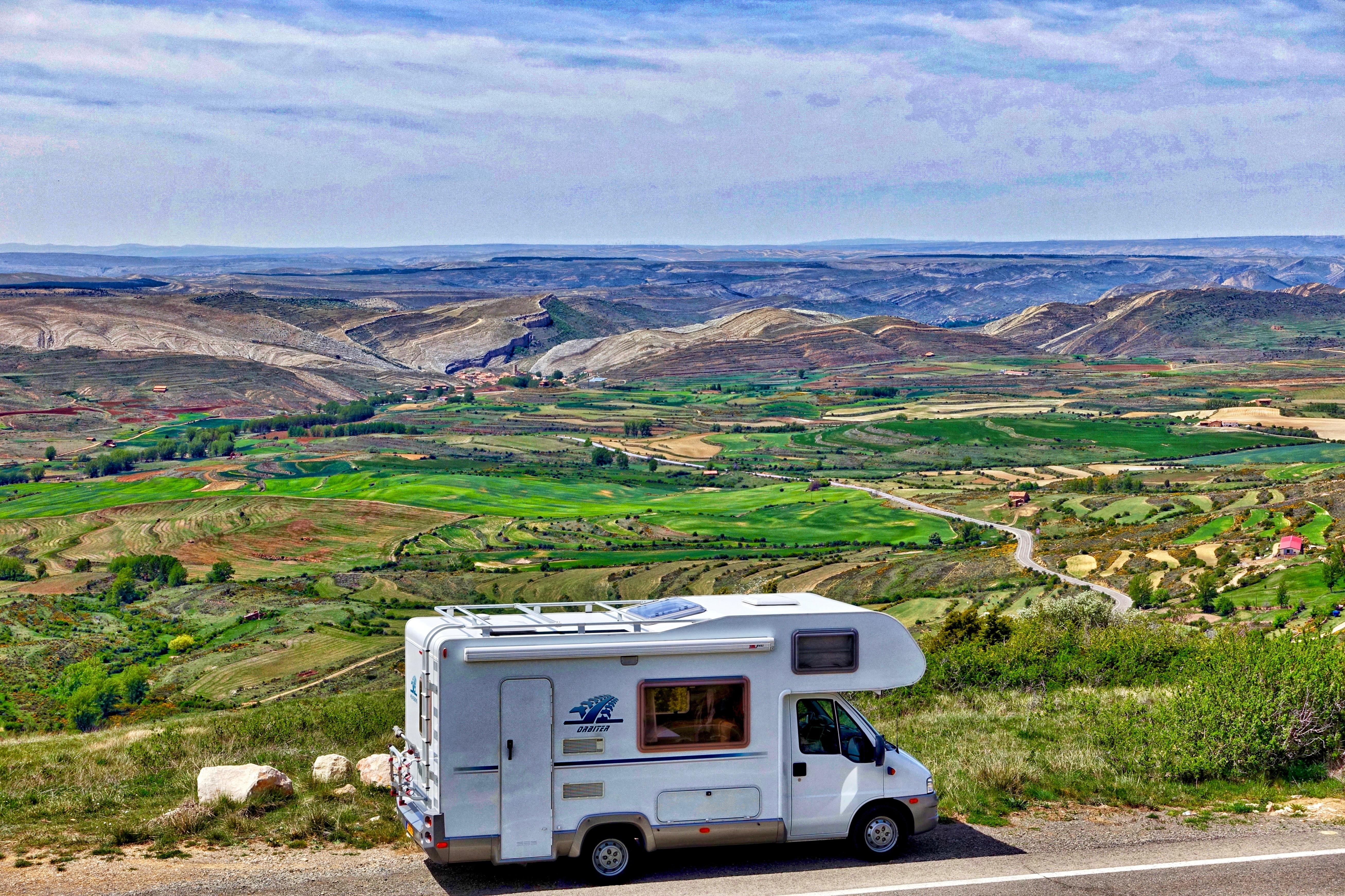 Free Images : landscape, car, highway, mountain range, transport, journey, scenery, holiday ...