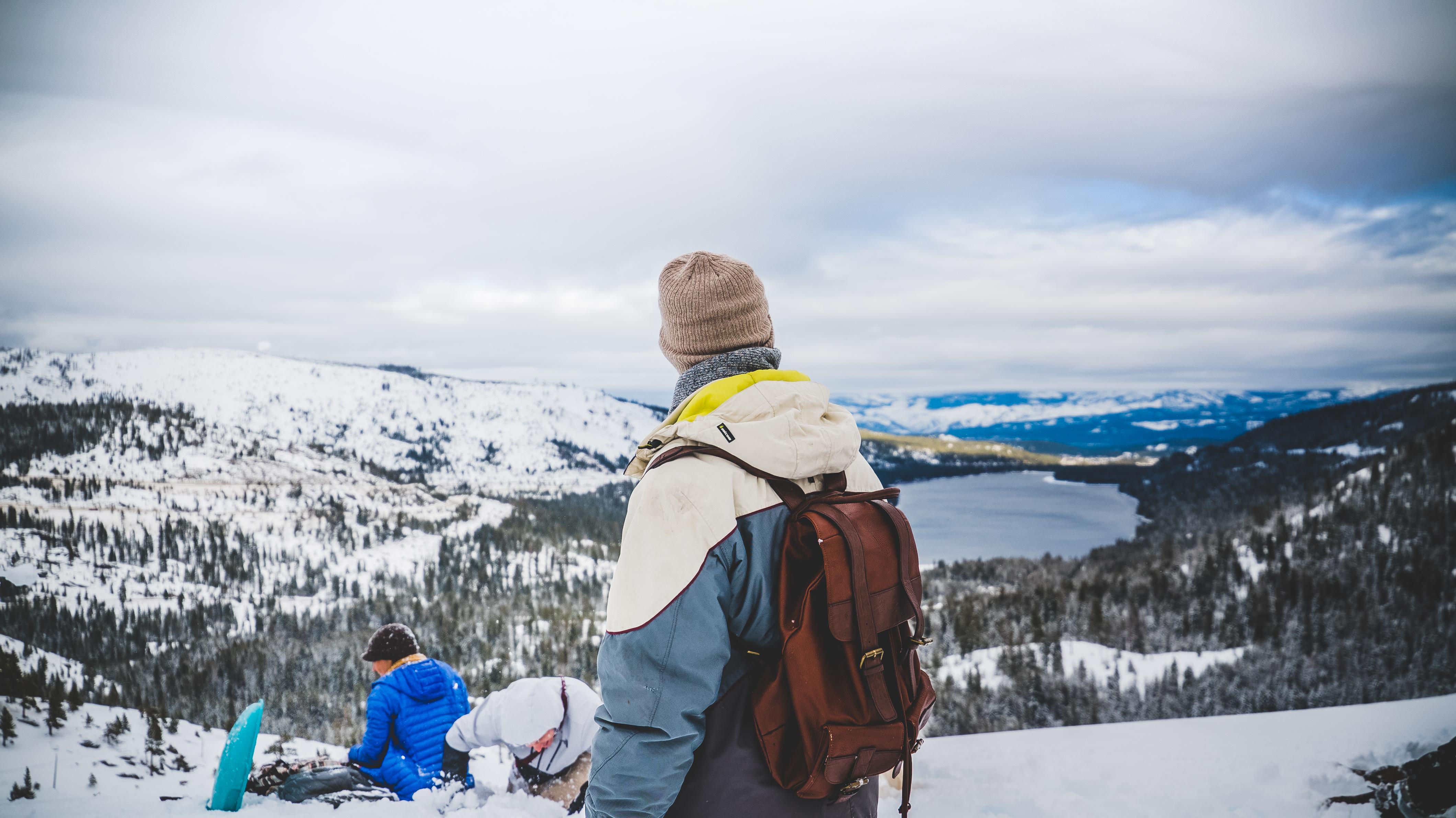 картинки туристов зимой игрушки ручной работы