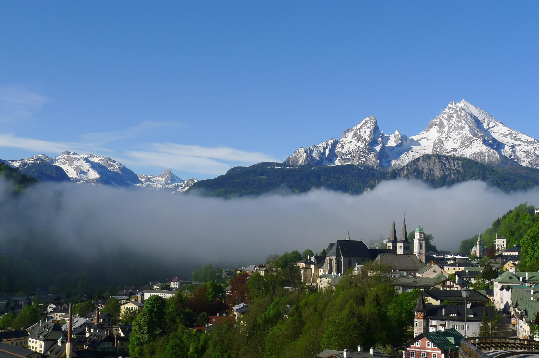 Kostenlose foto : Landschaft, Berg, Schnee, Nebel, Wandern ...
