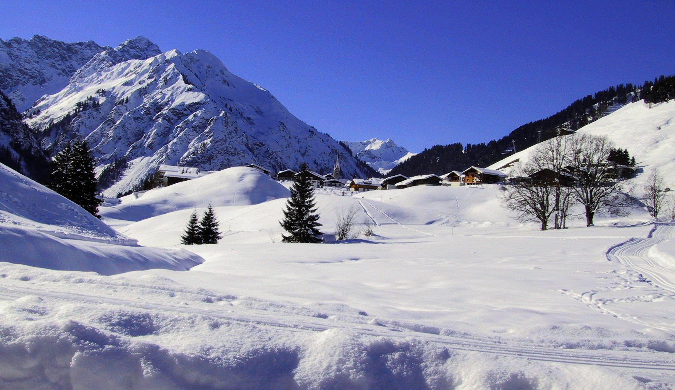 Kostenlose foto : Landschaft, Berg, Schnee, Winter ...