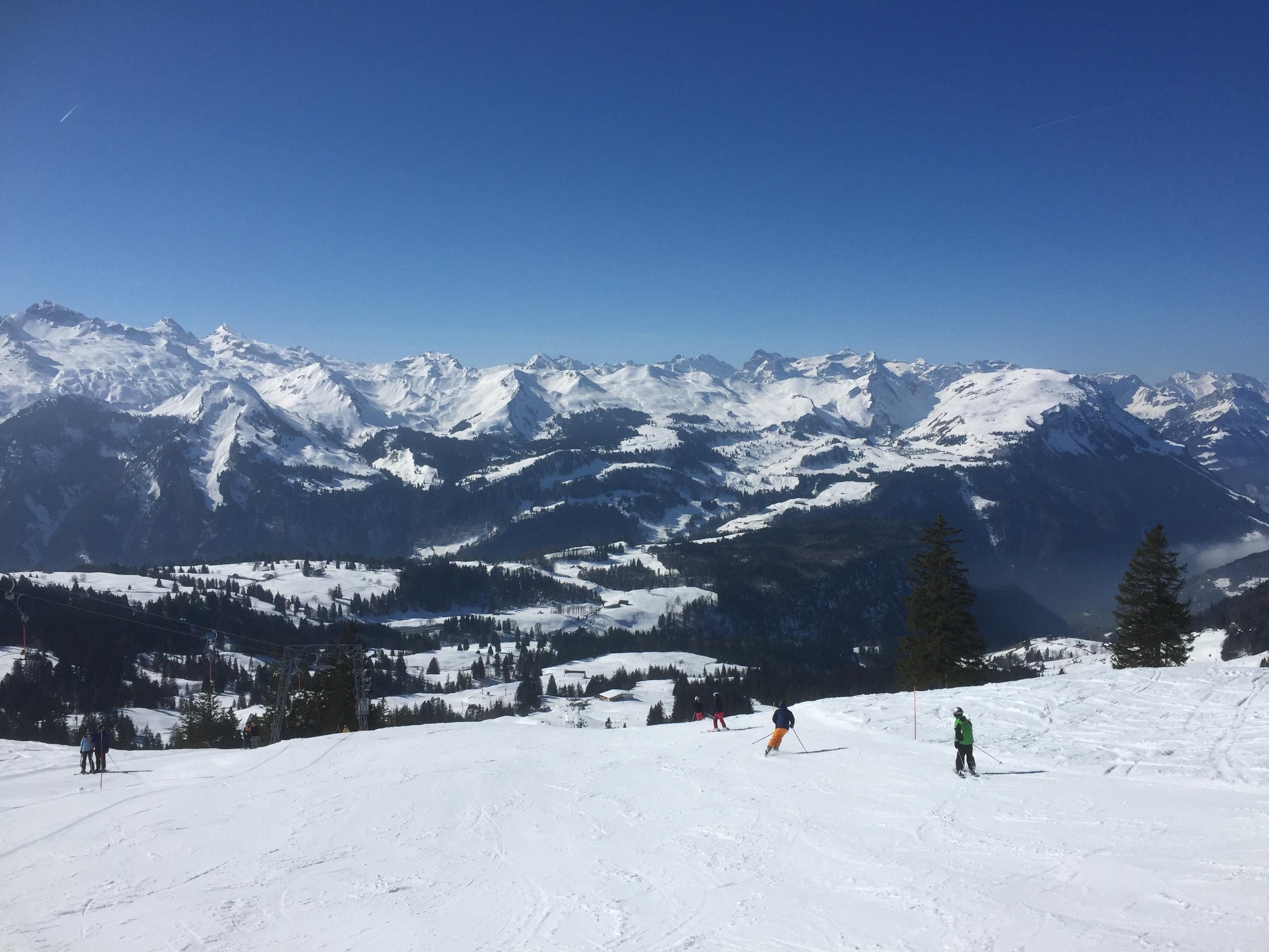 free images : landscape, snow, white, mountain range, ski lift