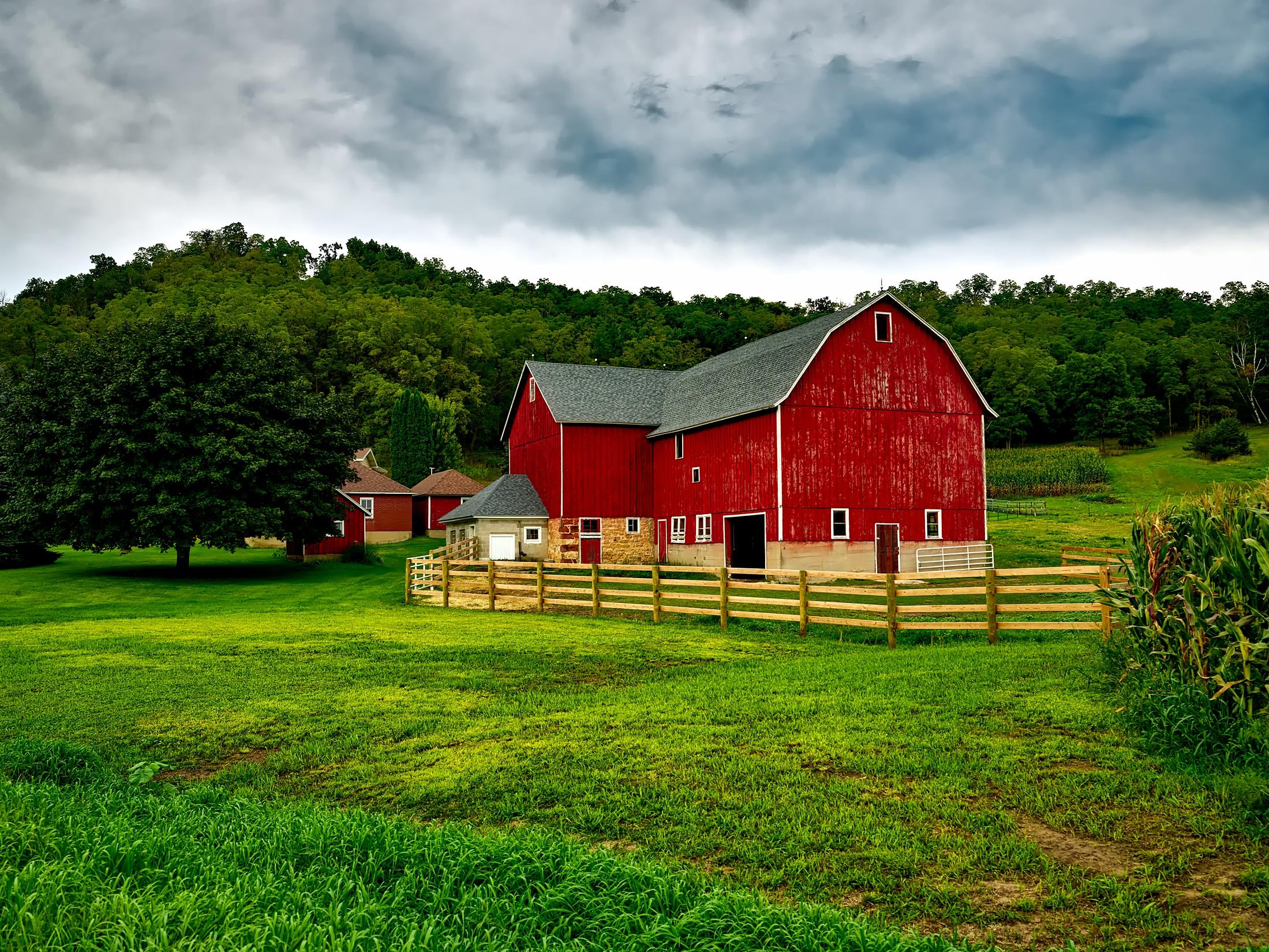 Домик фермы картинка
