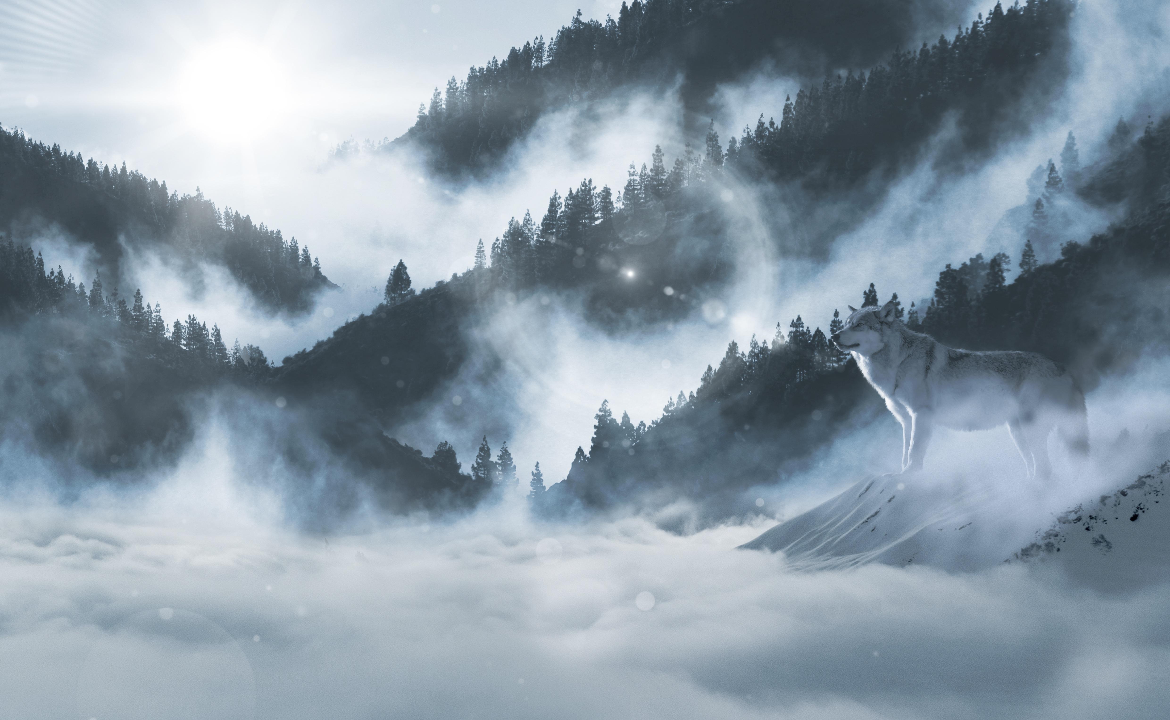 landscape sky clouds snow - photo #19