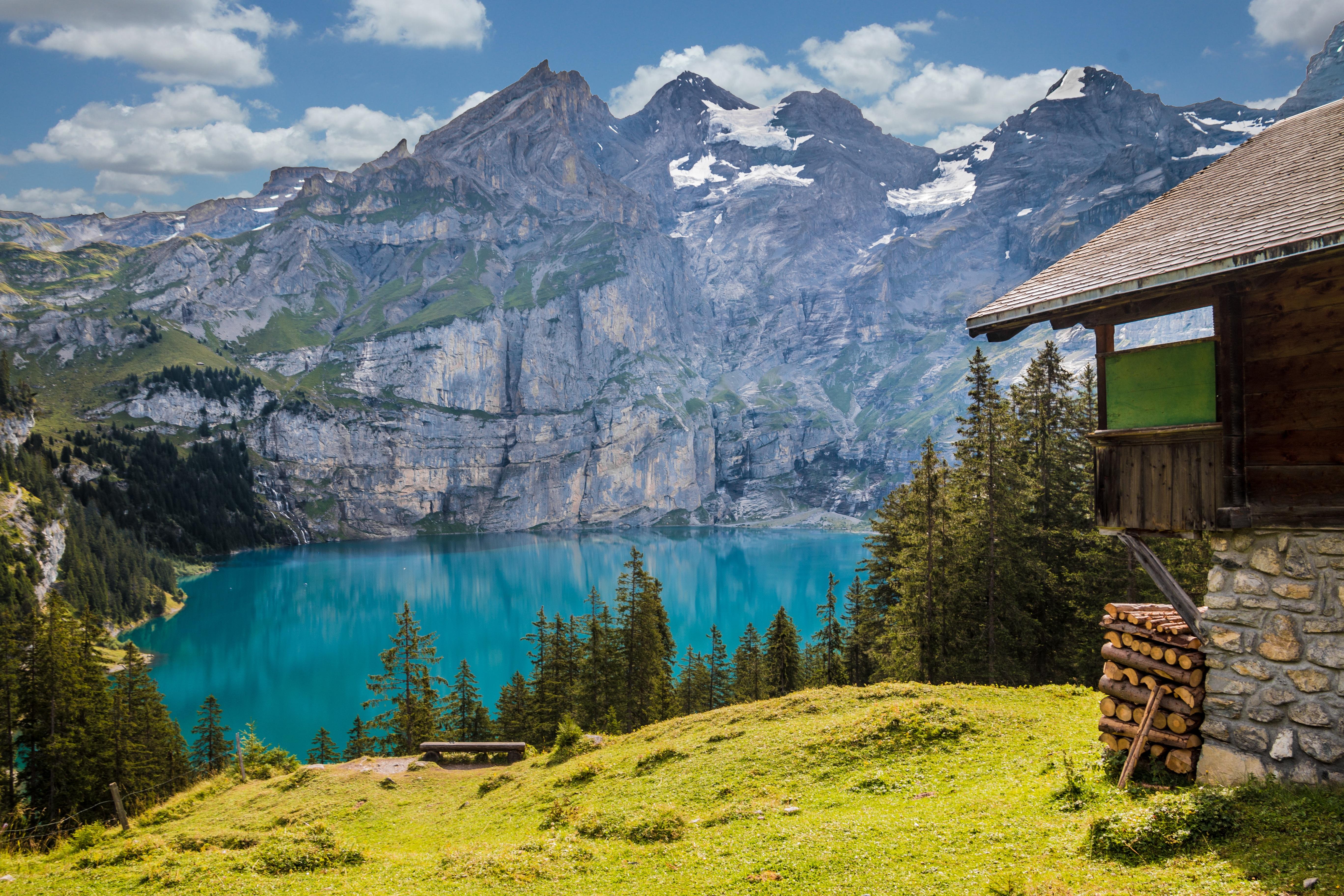 Free landscape nature forest wilderness sky lake
