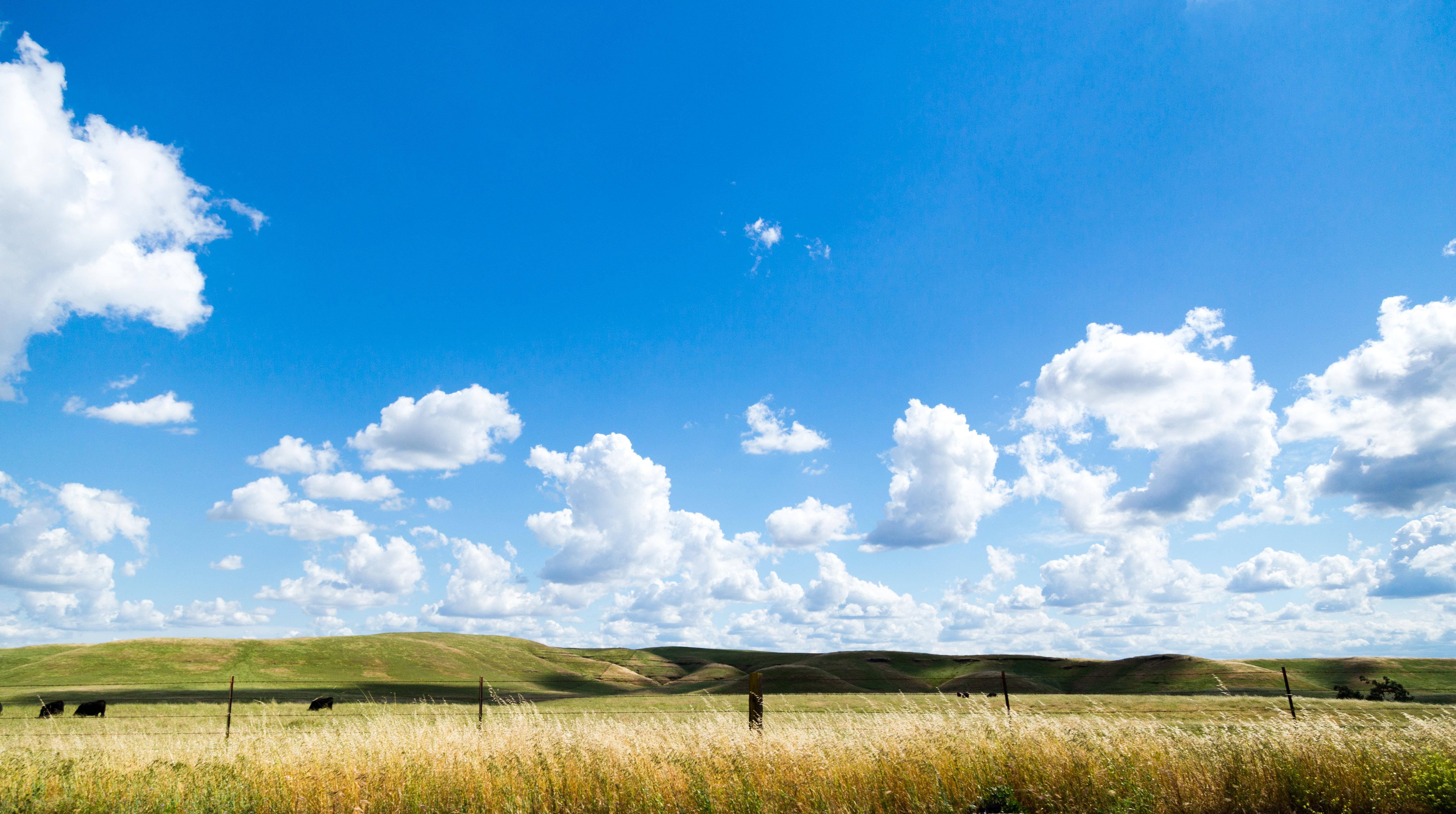 free images landscape nature horizon fence cloud sky sun