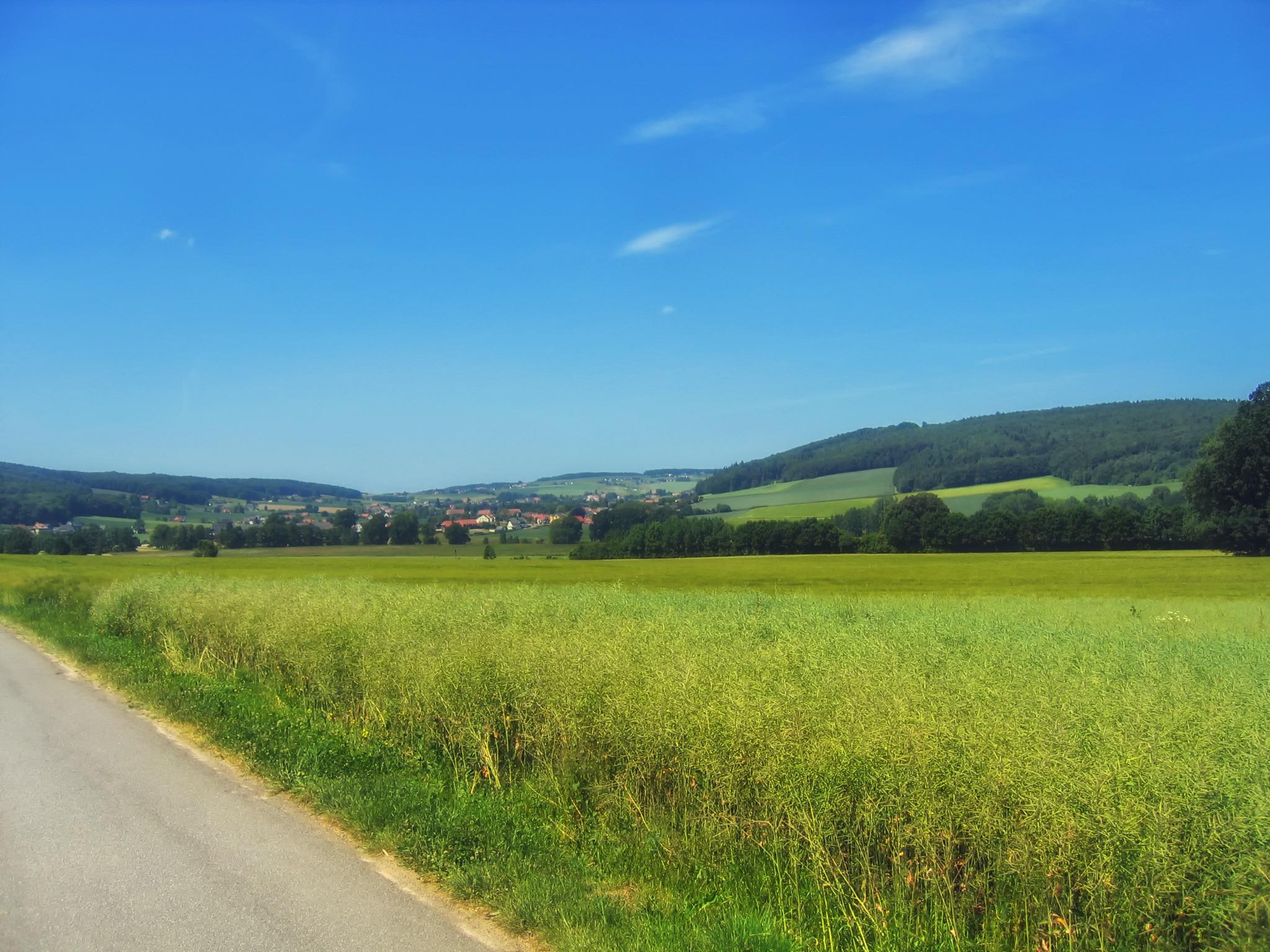 Gambar : pemandangan, horison, gunung, langit, jalan, bidang