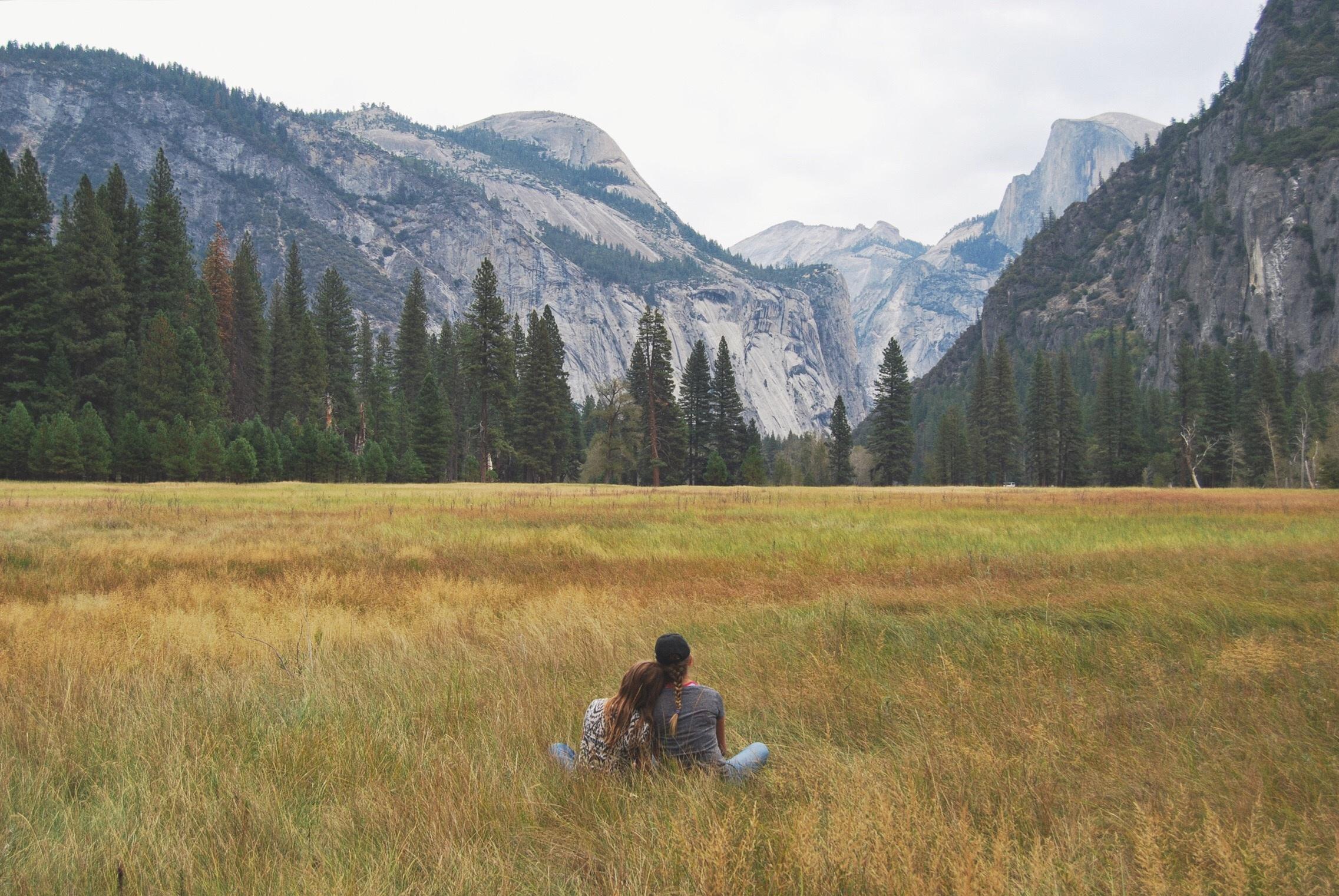 Картинки с людьми в долина