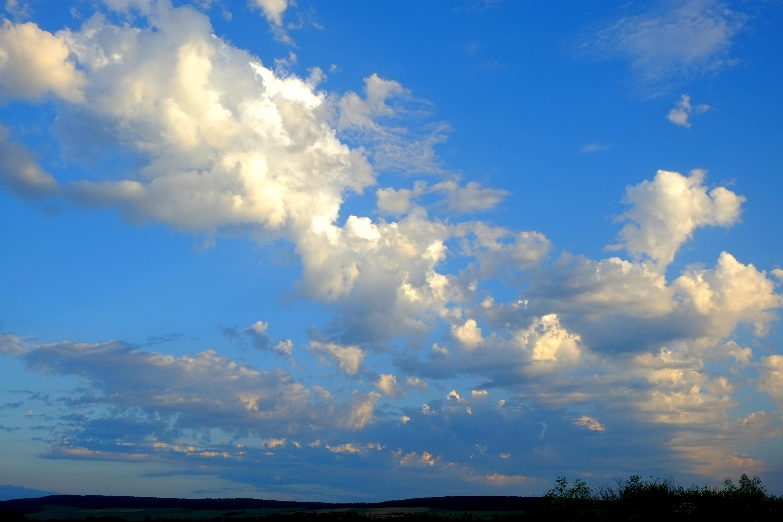 фототюль картинки небо облака богатством даже посмотрел