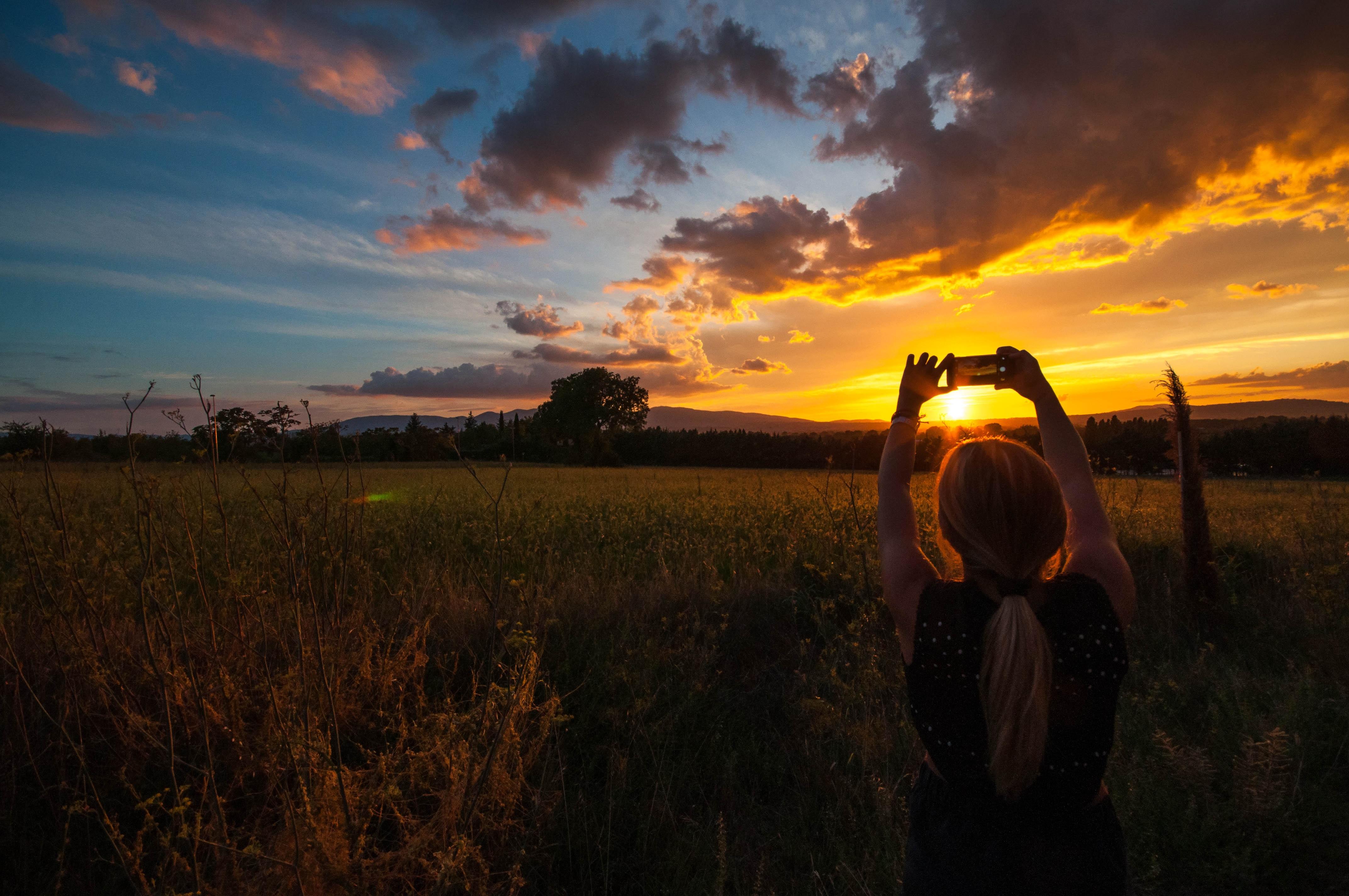 обращай что фотографировать на рассвете для оптического распознавания