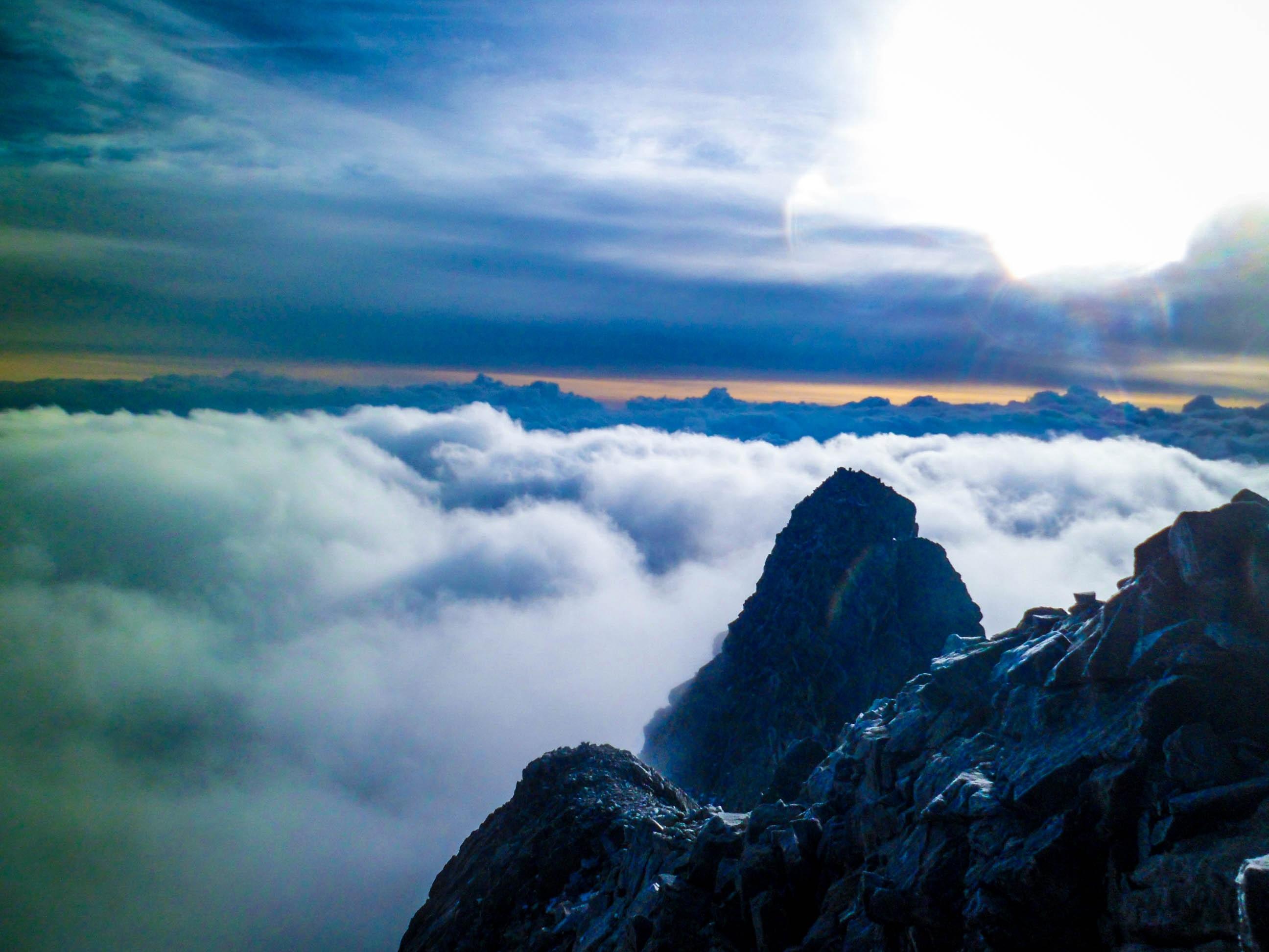 фотографии с горы небо все такие, как