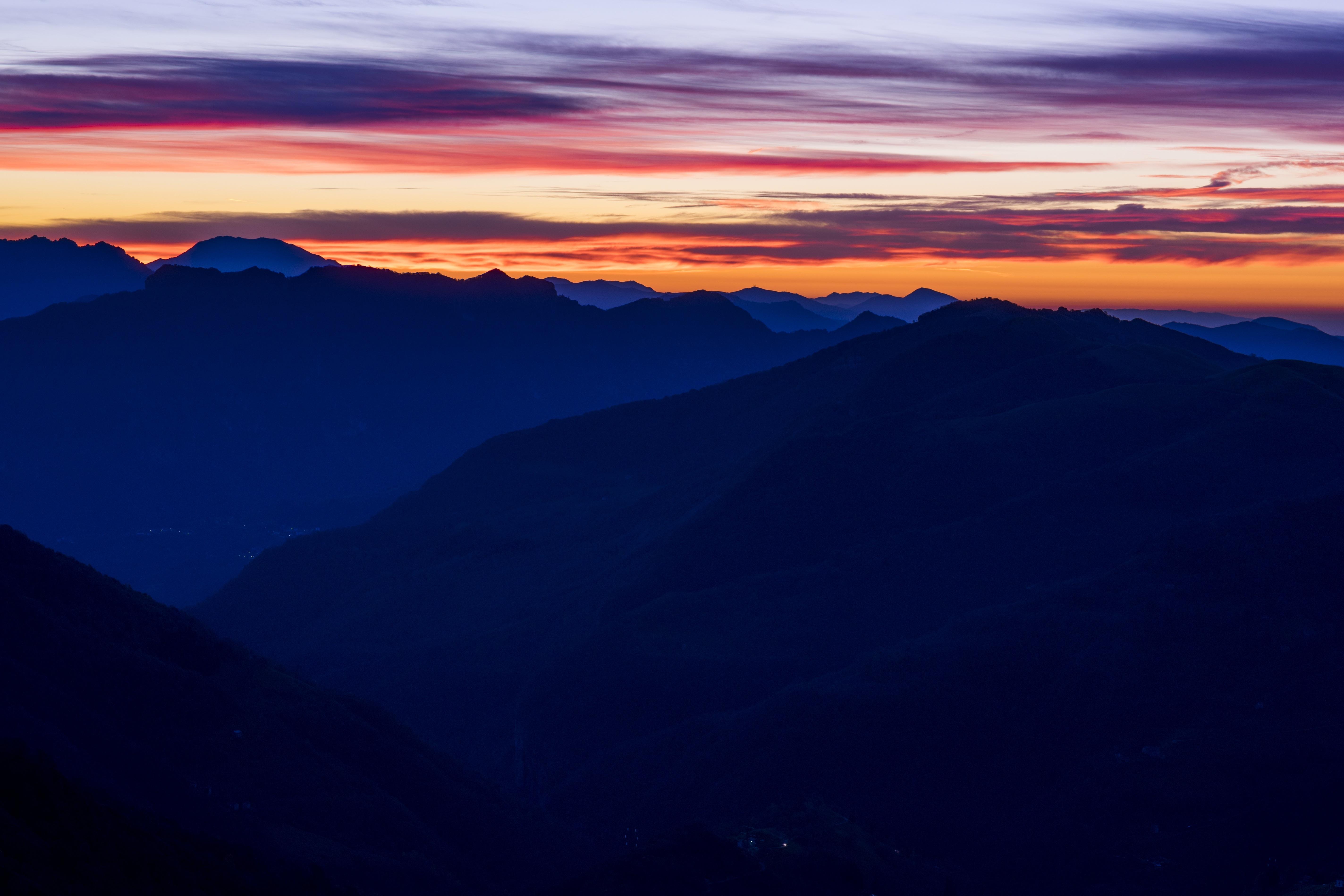 kostenlose foto natur horizont berg wolke